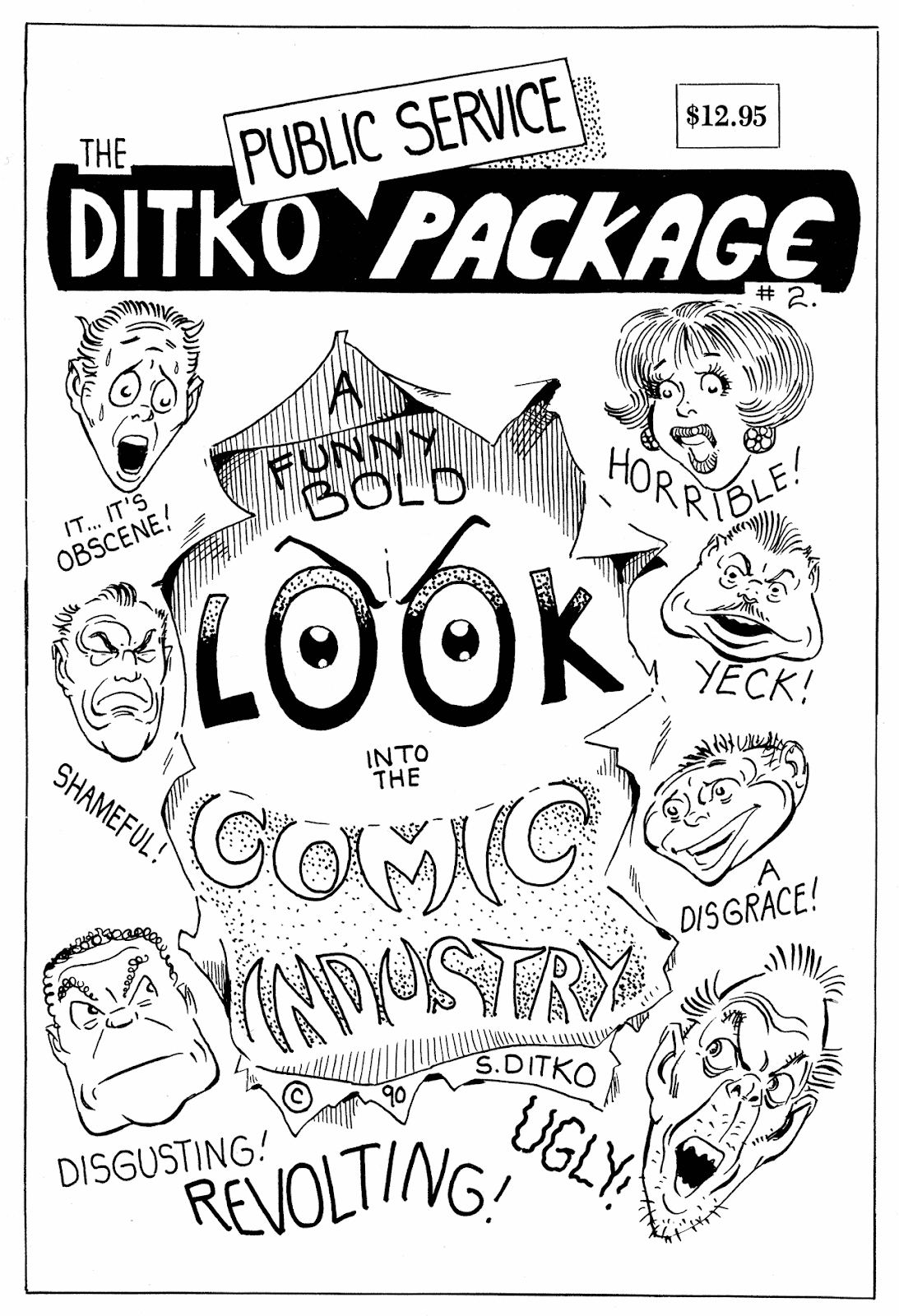 Ditko Public Service Package TPB Page 1