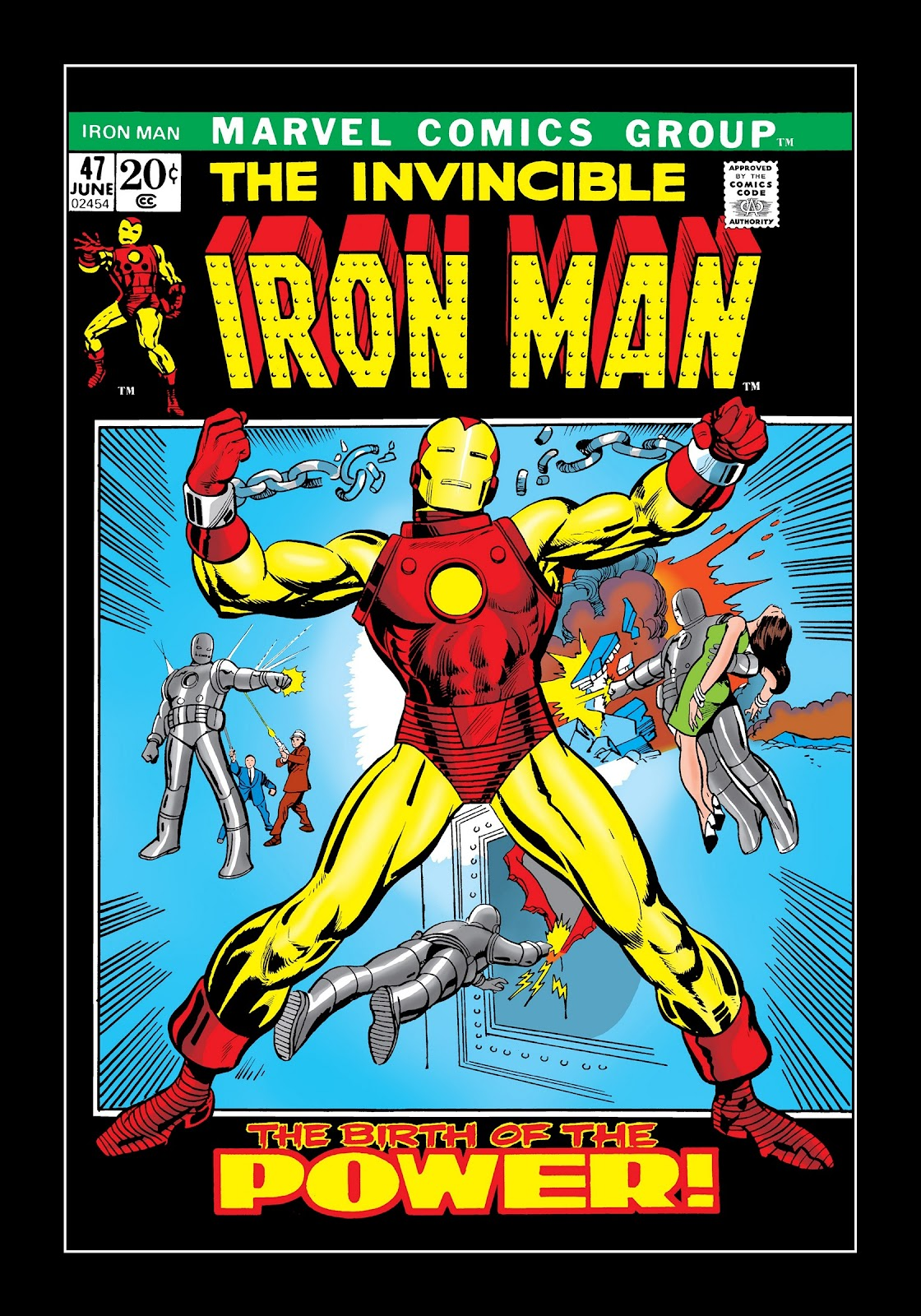 Read online Marvel Masterworks: The Invincible Iron Man comic -  Issue # TPB 8 (Part 2) - 66