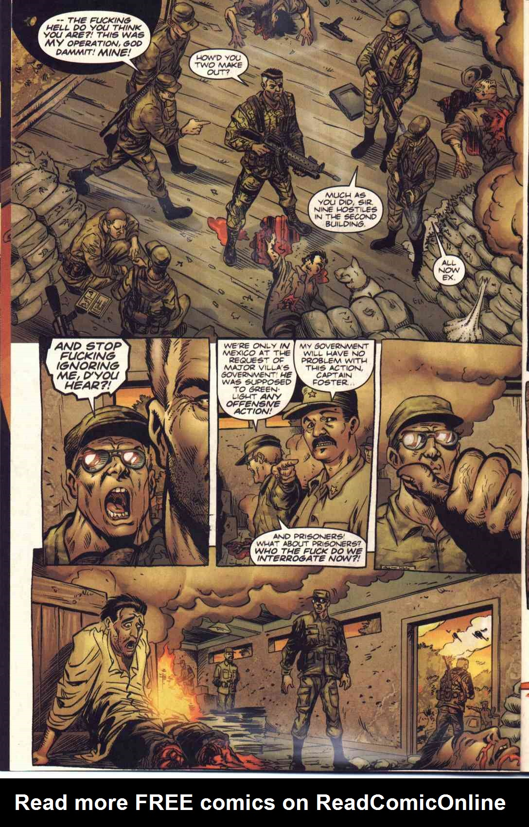 Read online Fury comic -  Issue #1 - 7