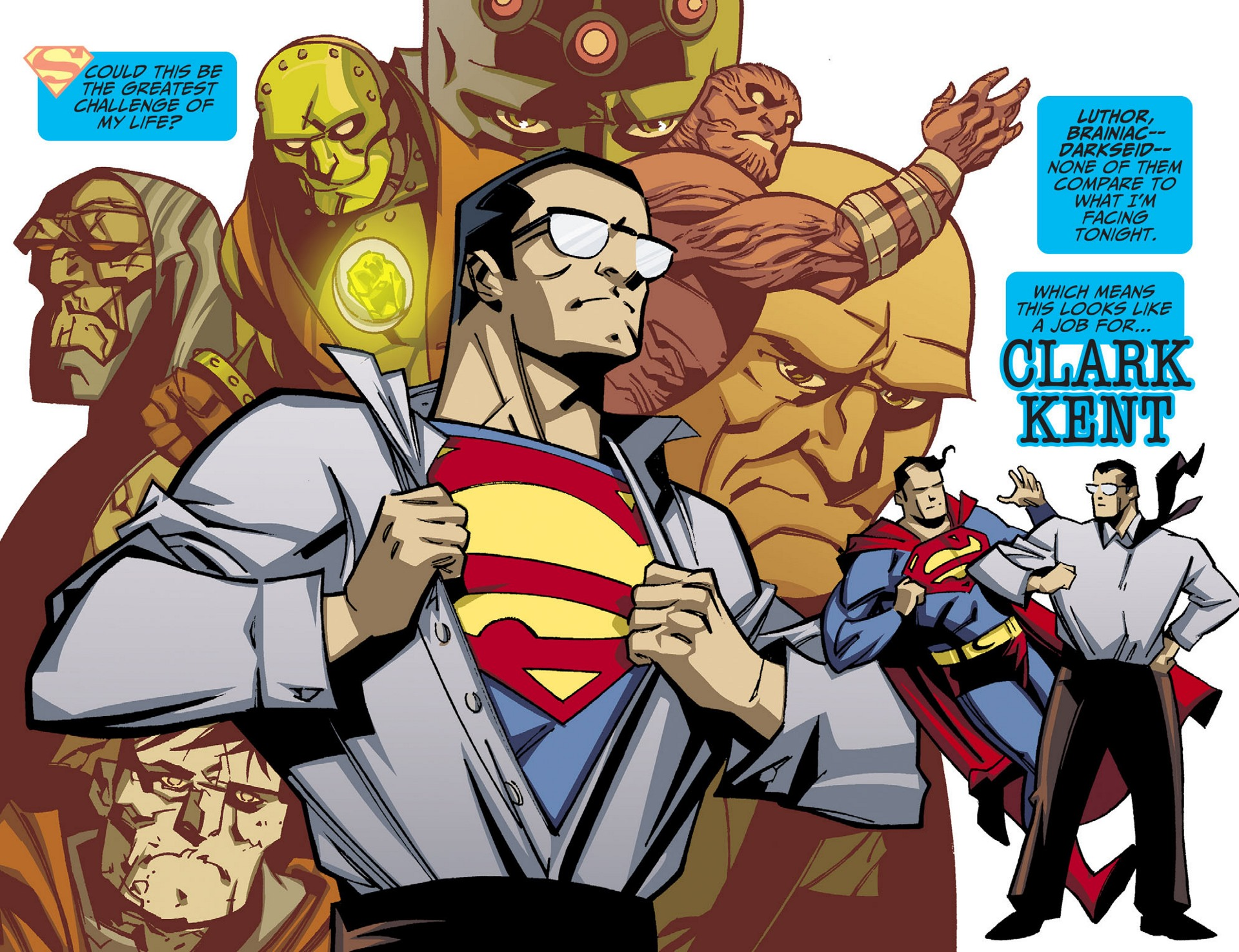 Read online Adventures of Superman [I] comic -  Issue #42 - 3