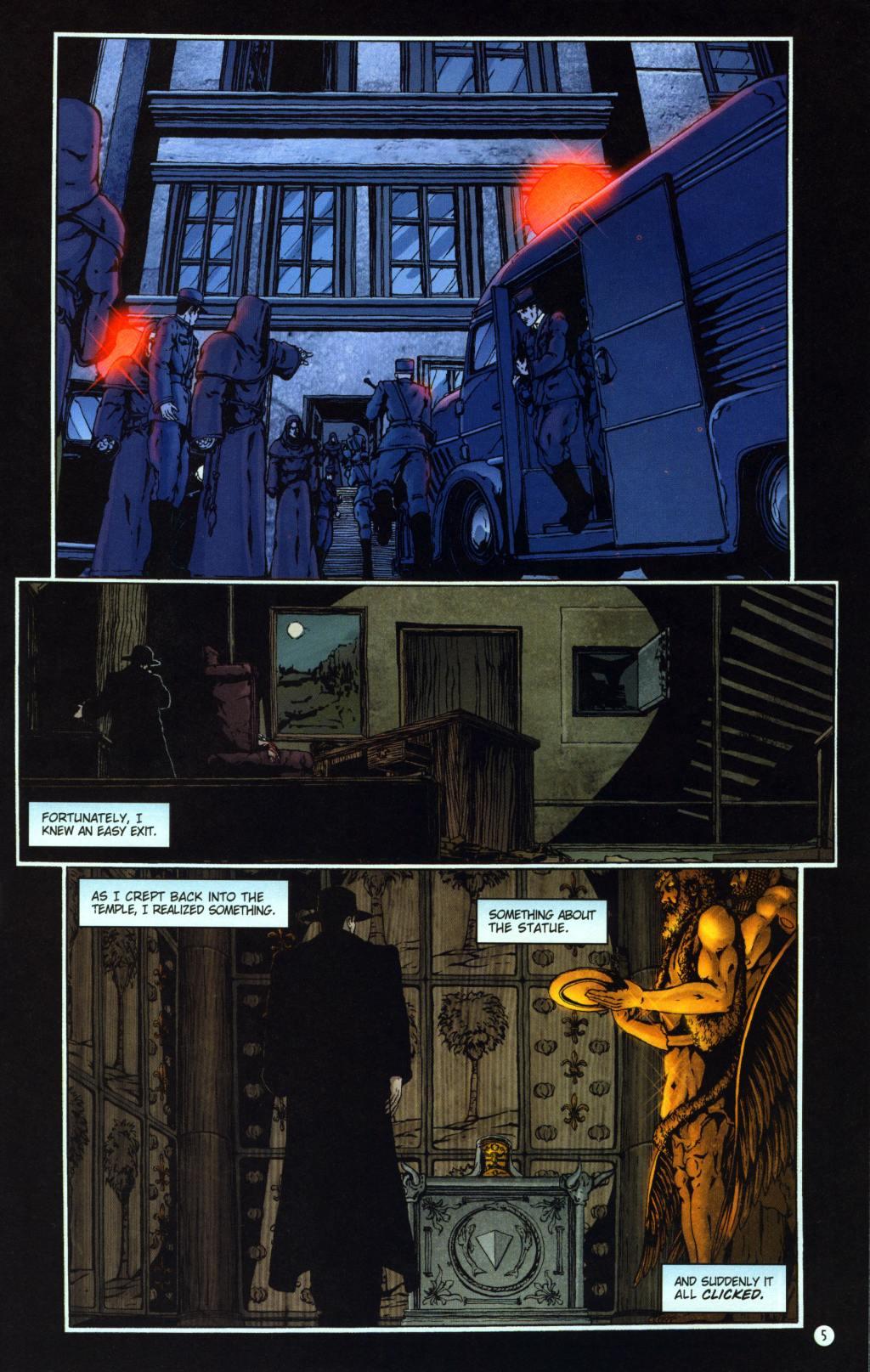 Read online Rex Mundi comic -  Issue #8 - 9