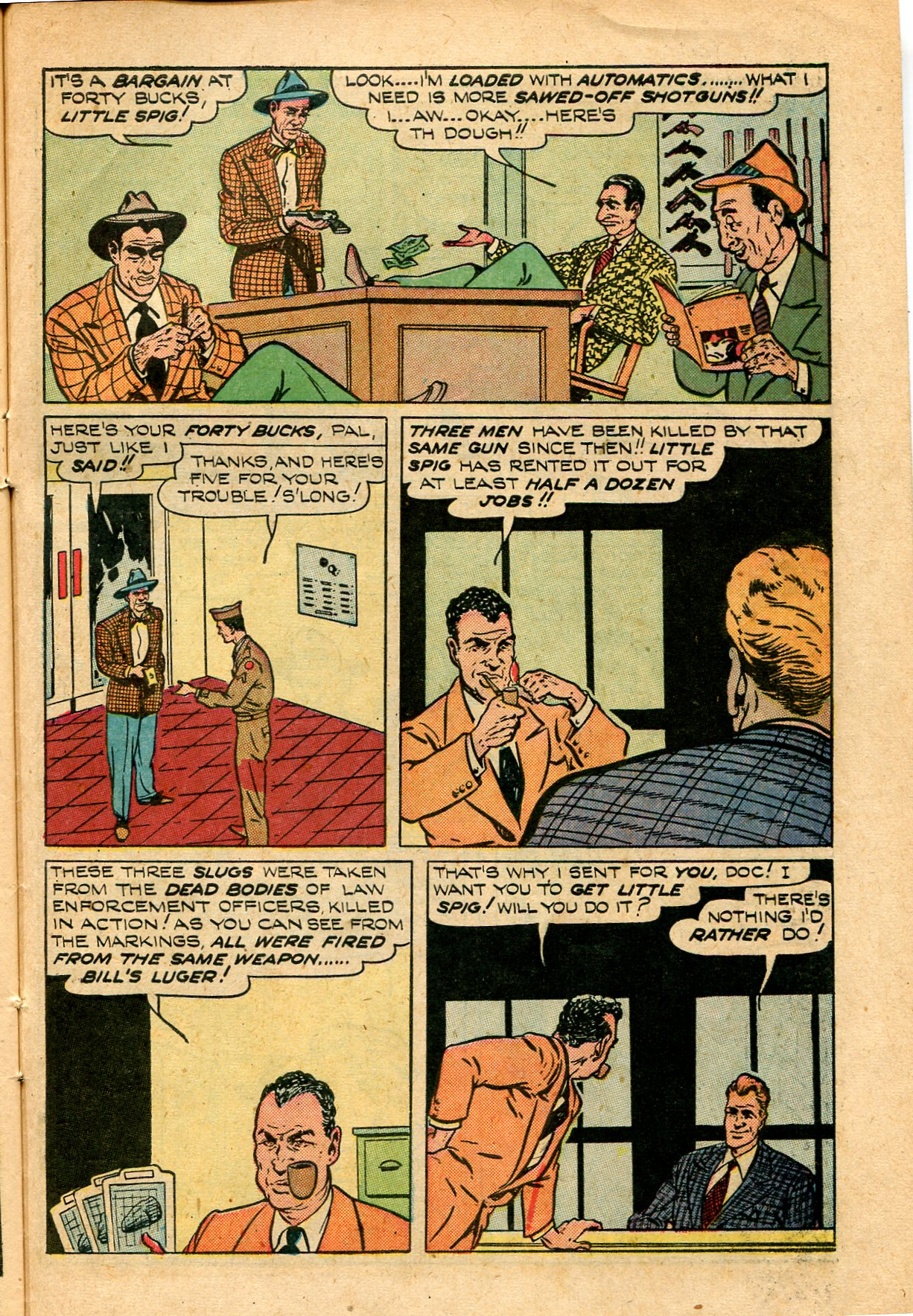 Read online Shadow Comics comic -  Issue #82 - 41