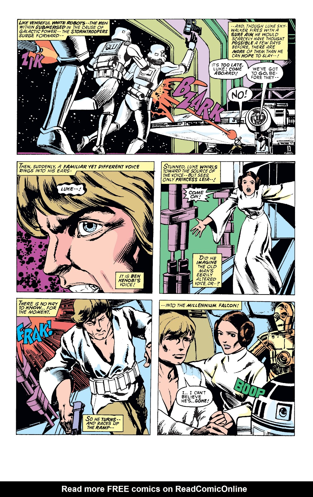 Read online Star Wars Legends: The Original Marvel Years - Epic Collection comic -  Issue # TPB 1 (Part 1) - 78