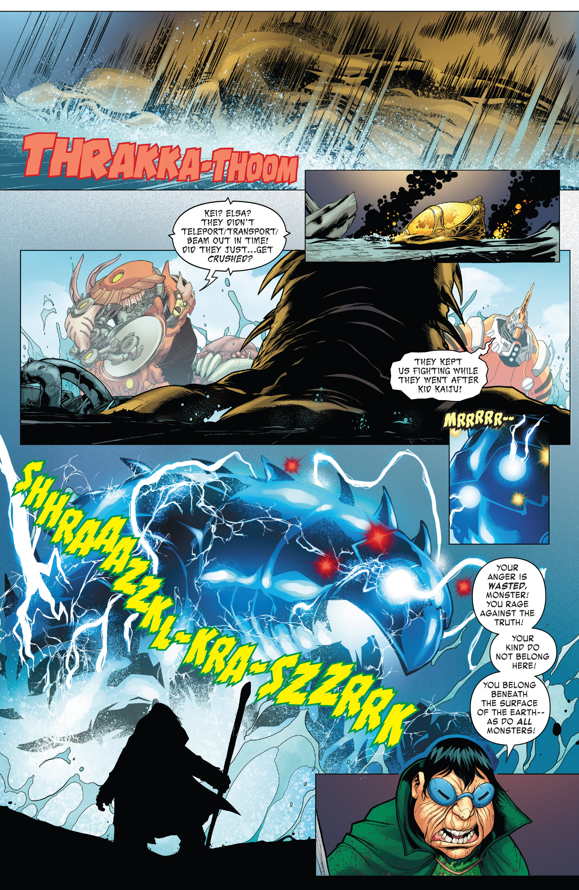 Read online Monsters Unleashed II comic -  Issue #2 - 7