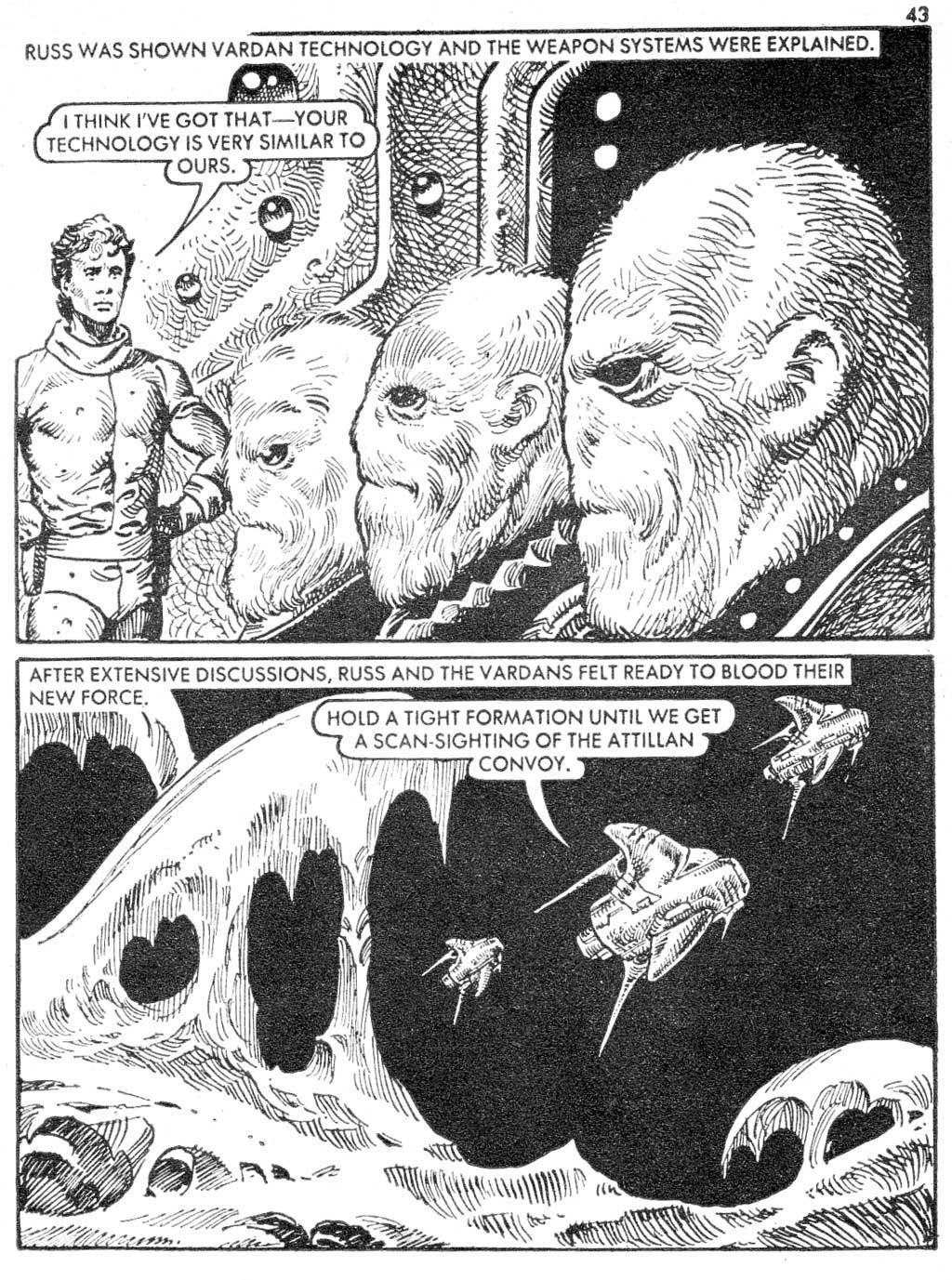 Starblazer issue 87 - Page 43