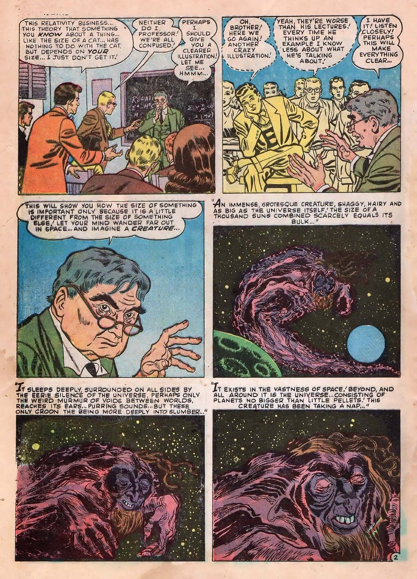 Read online Adventures into Weird Worlds comic -  Issue #2 - 28