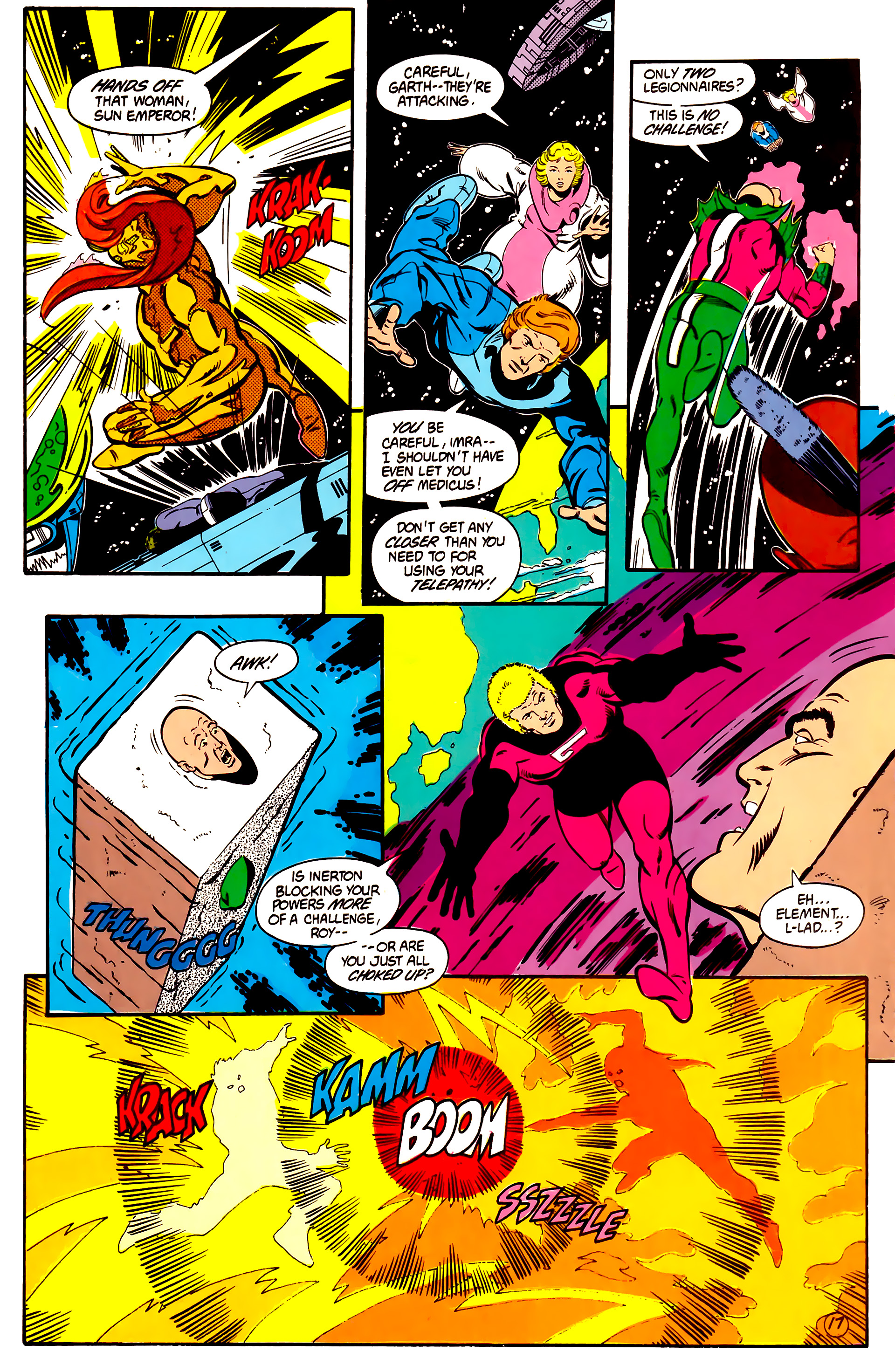 Legion of Super-Heroes (1984) 2 Page 18