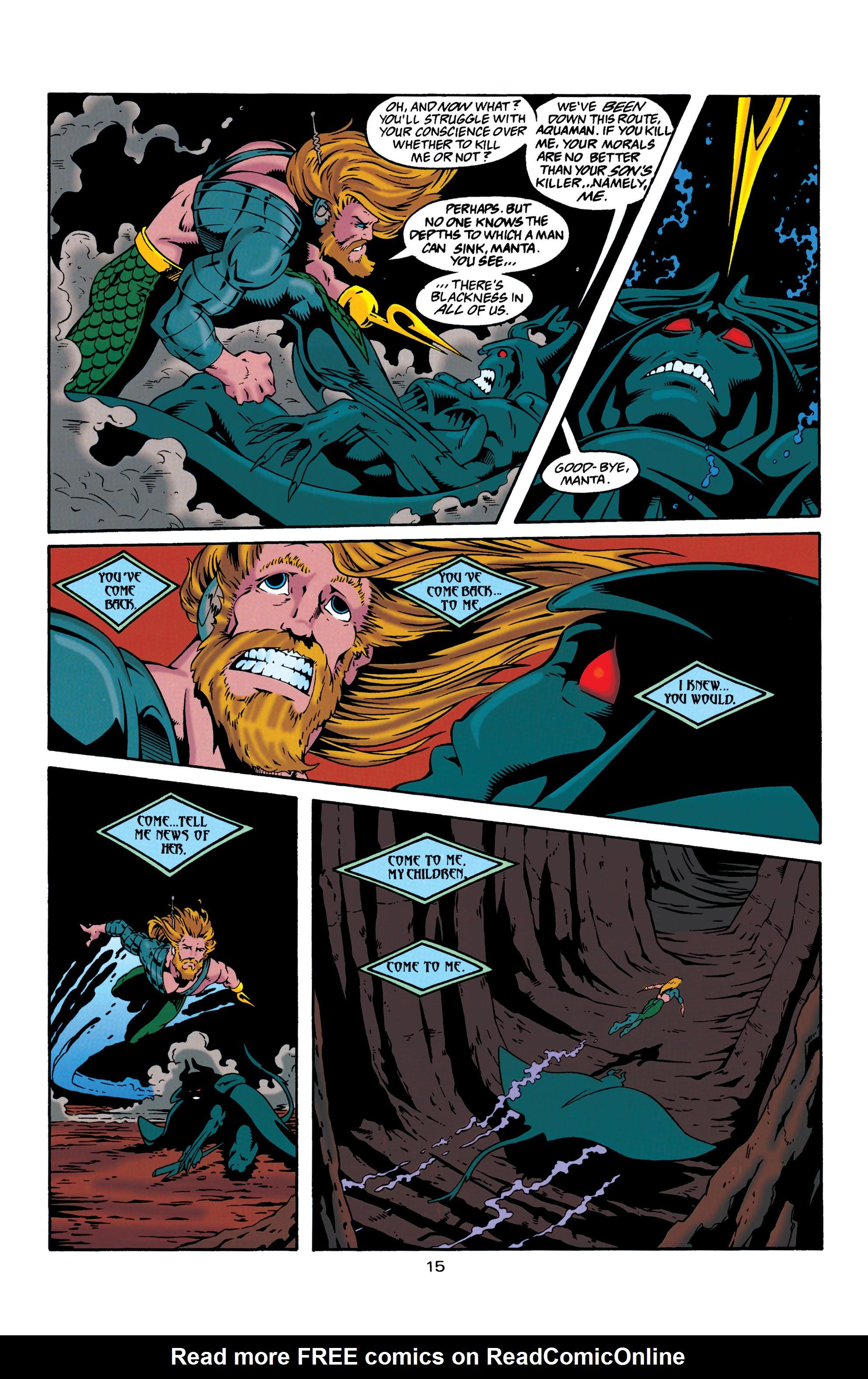 Read online Aquaman (1994) comic -  Issue #30 - 15