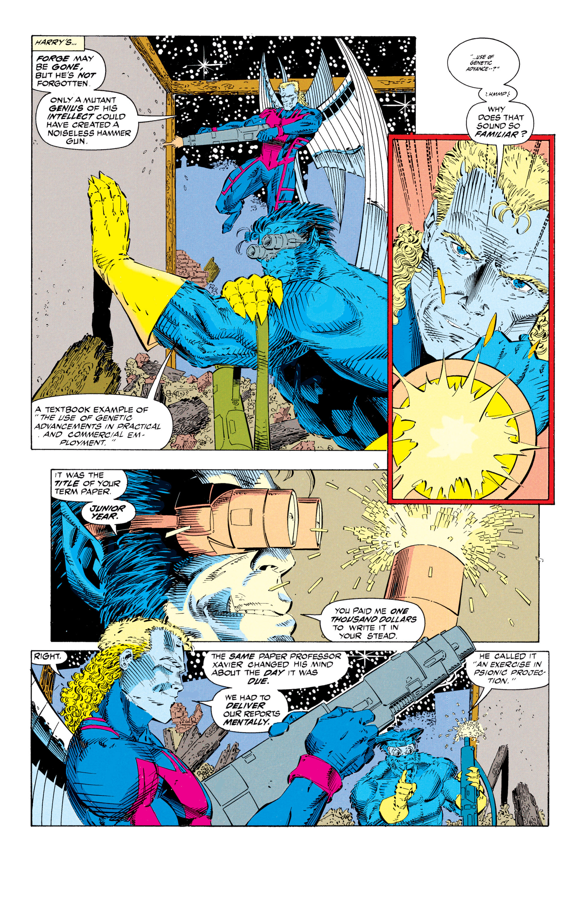 Read online Uncanny X-Men (1963) comic -  Issue #297 - 8