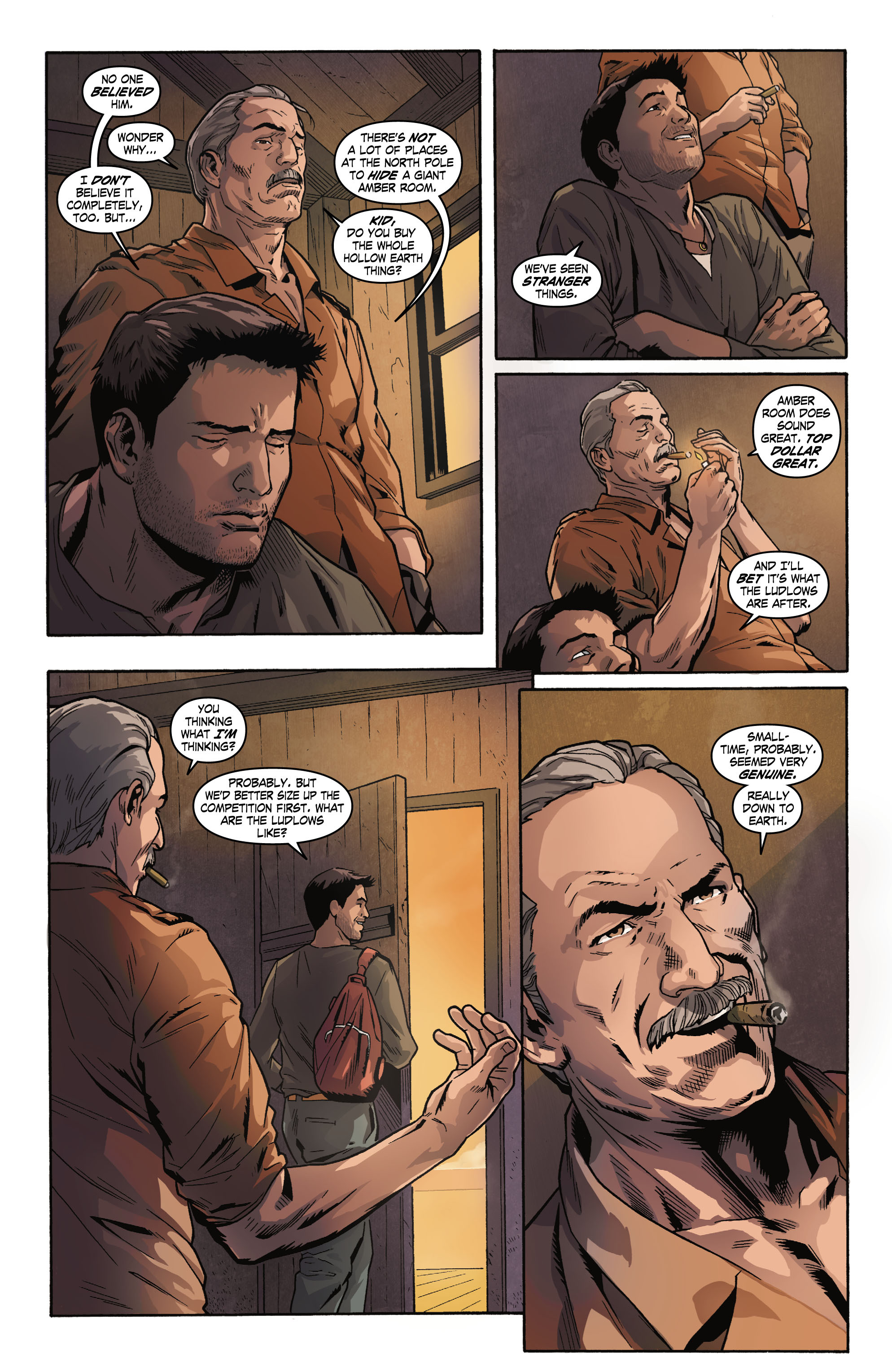 Read online Uncharted comic -  Issue #1 - 14