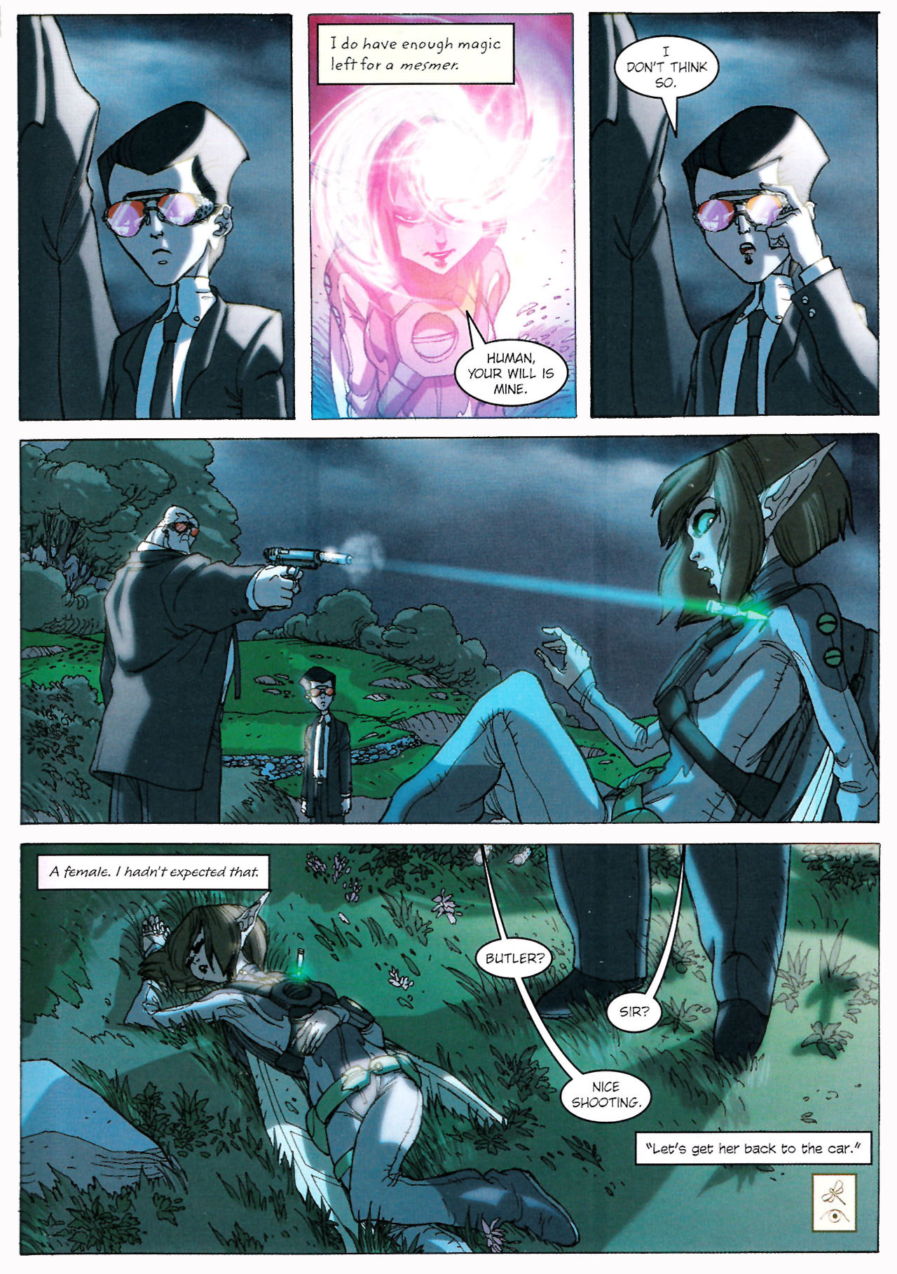 Read online Artemis Fowl comic -  Issue #Artemis Fowl TPB - 36