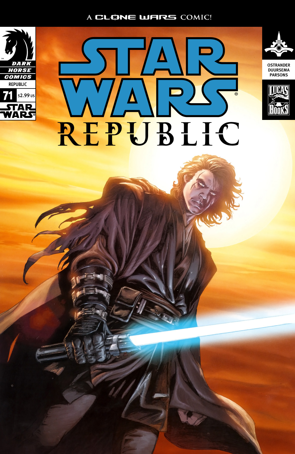 Star Wars: Republic 71 Page 1