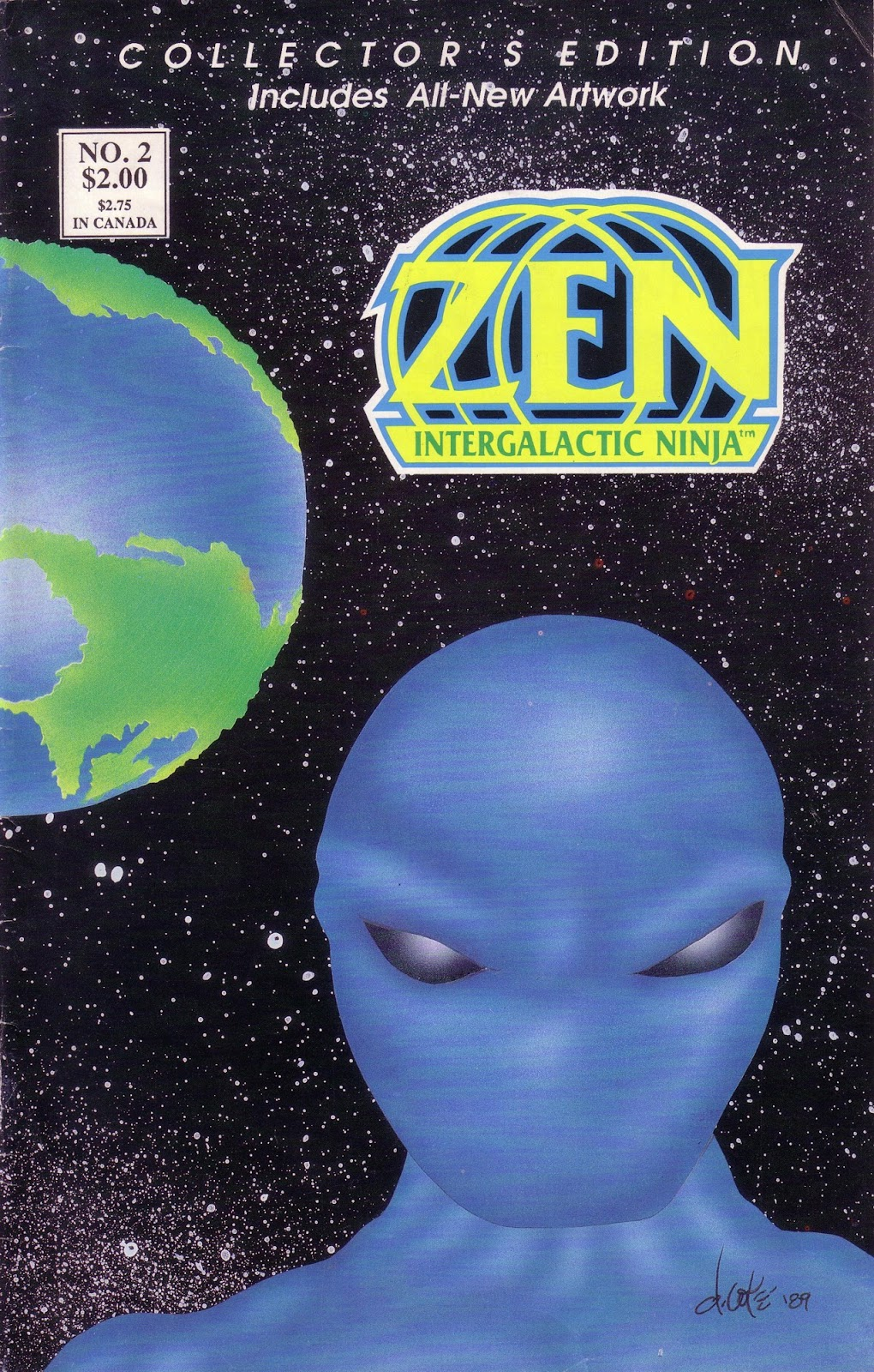 Zen Intergalactic Ninja (1989) 2 Page 1