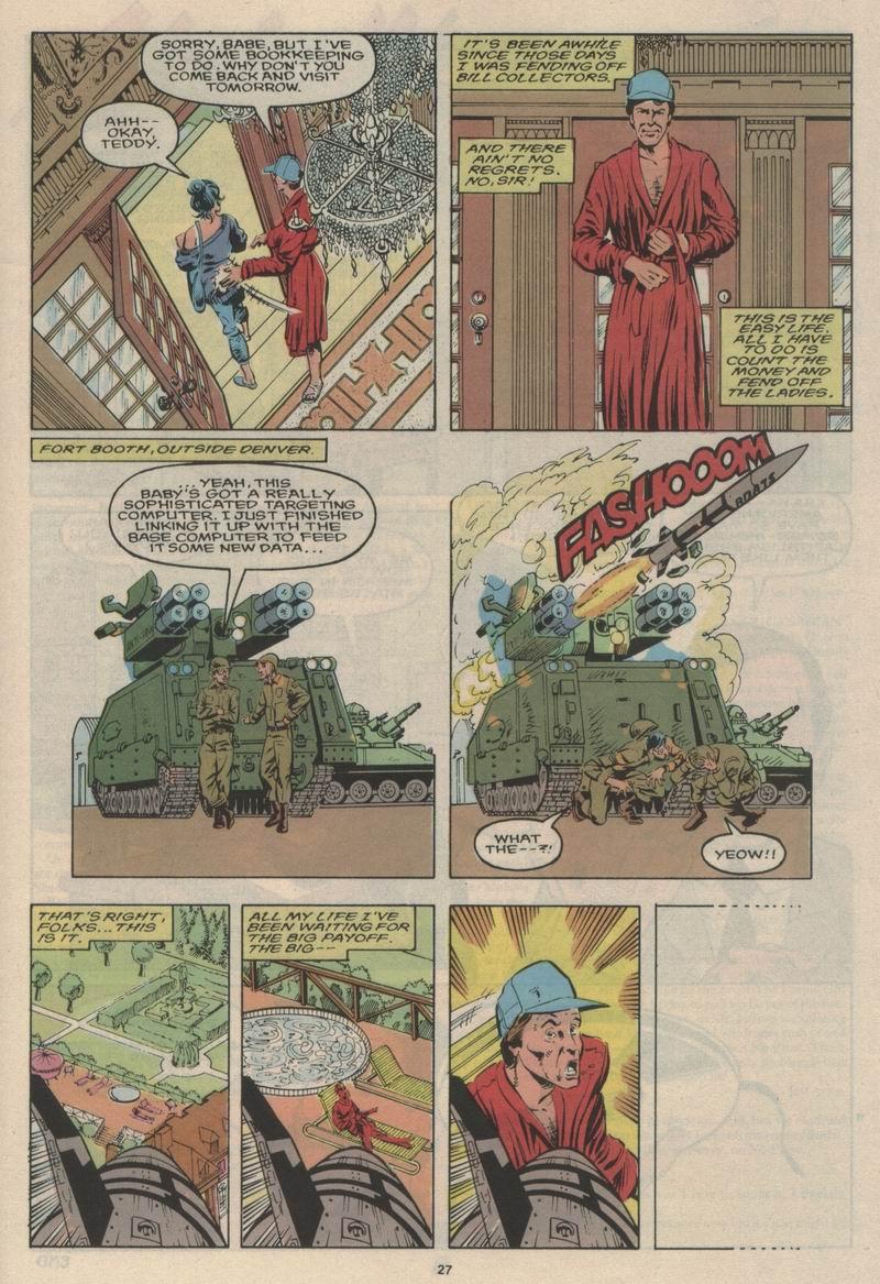 Read online Alpha Flight (1983) comic -  Issue #63 - 29