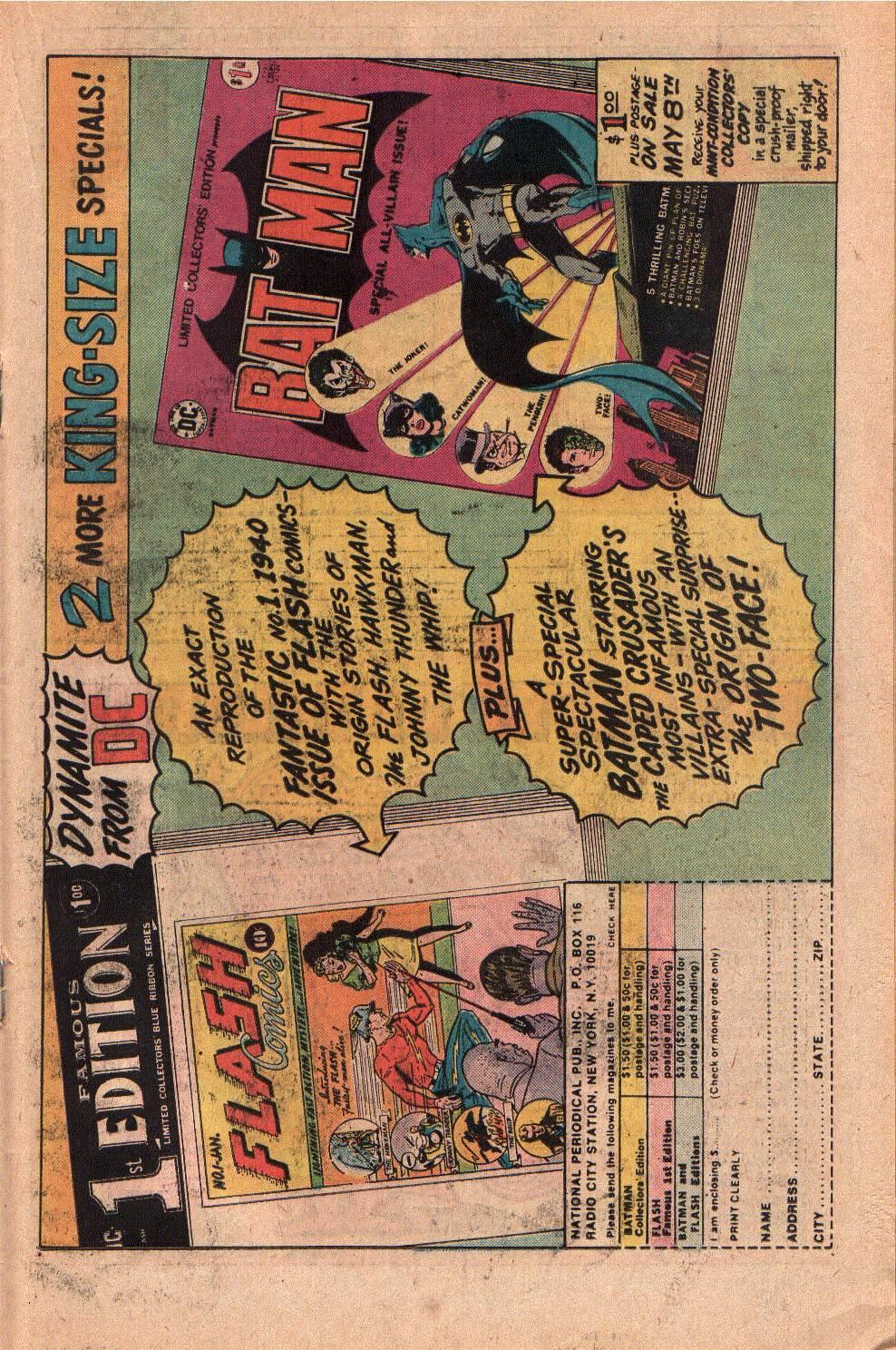 Read online Shazam! (1973) comic -  Issue #19 - 19