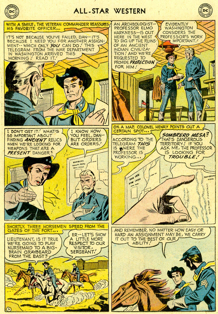 Read online All-Star Western (1951) comic -  Issue #83 - 20