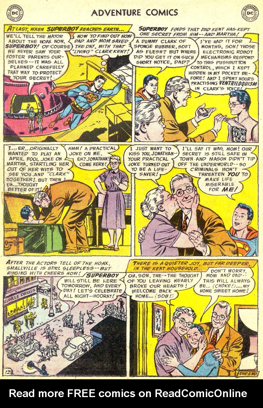 Read online Adventure Comics (1938) comic -  Issue #218 - 14