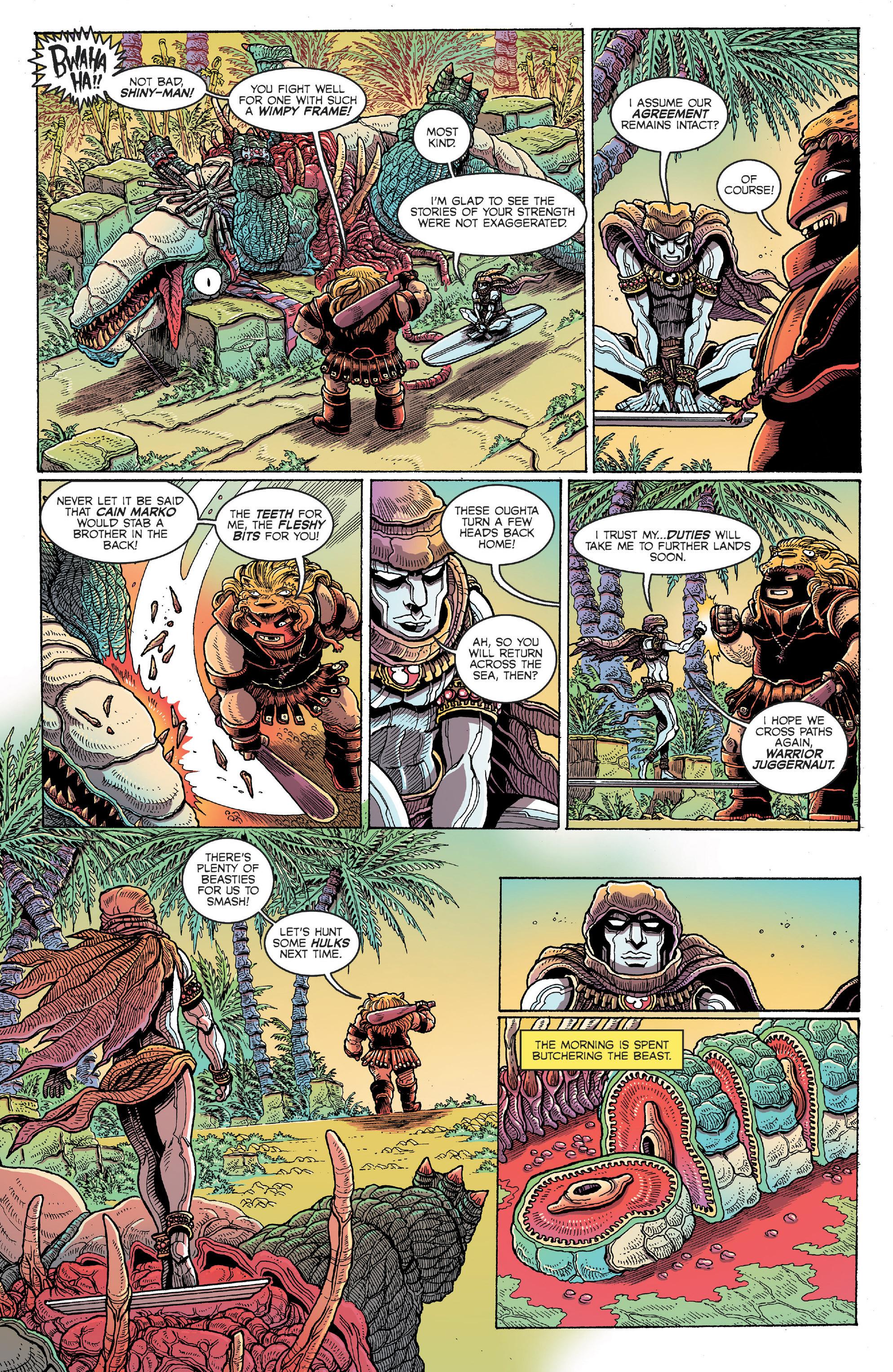 Read online Secret Wars Journal/Battleworld comic -  Issue # TPB - 193