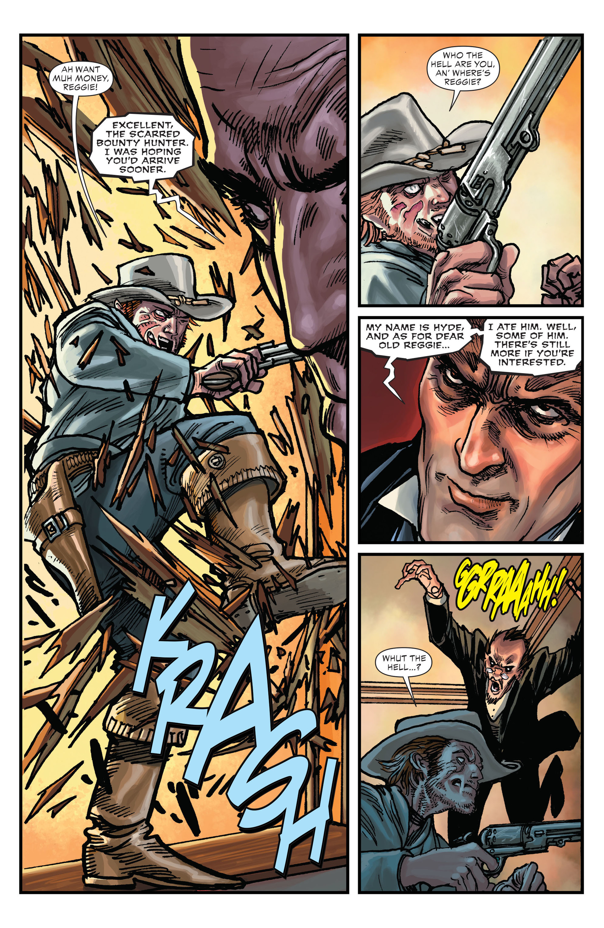 Read online All-Star Western (2011) comic -  Issue #15 - 4