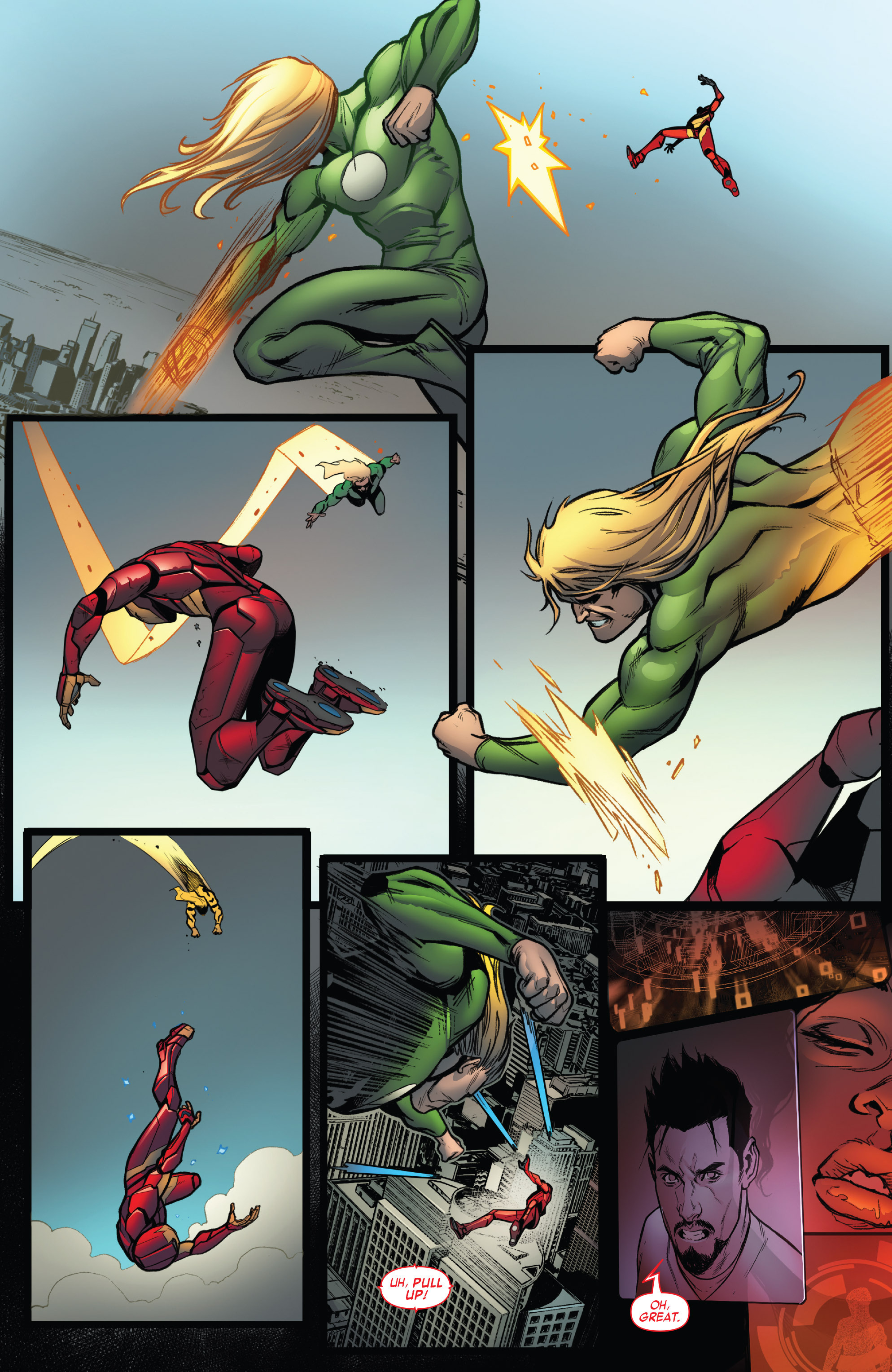 Read online Invincible Iron Man (2016) comic -  Issue #7 - 13