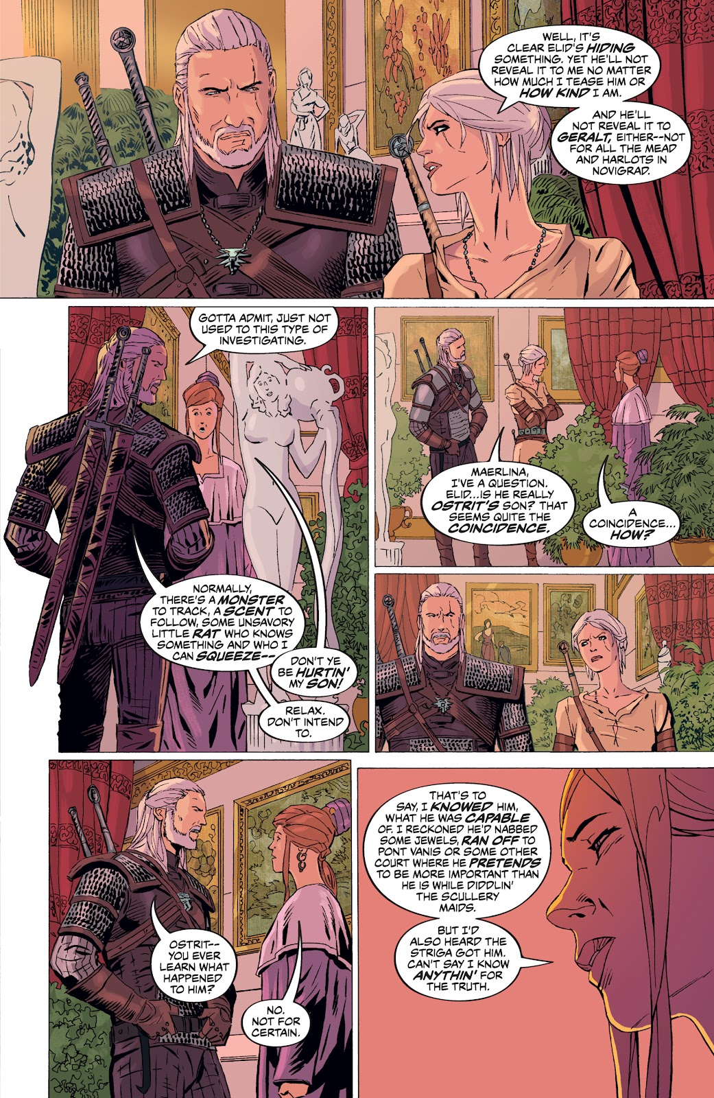 Read online The Witcher Omnibus comic -  Issue # TPB (Part 4) - 51