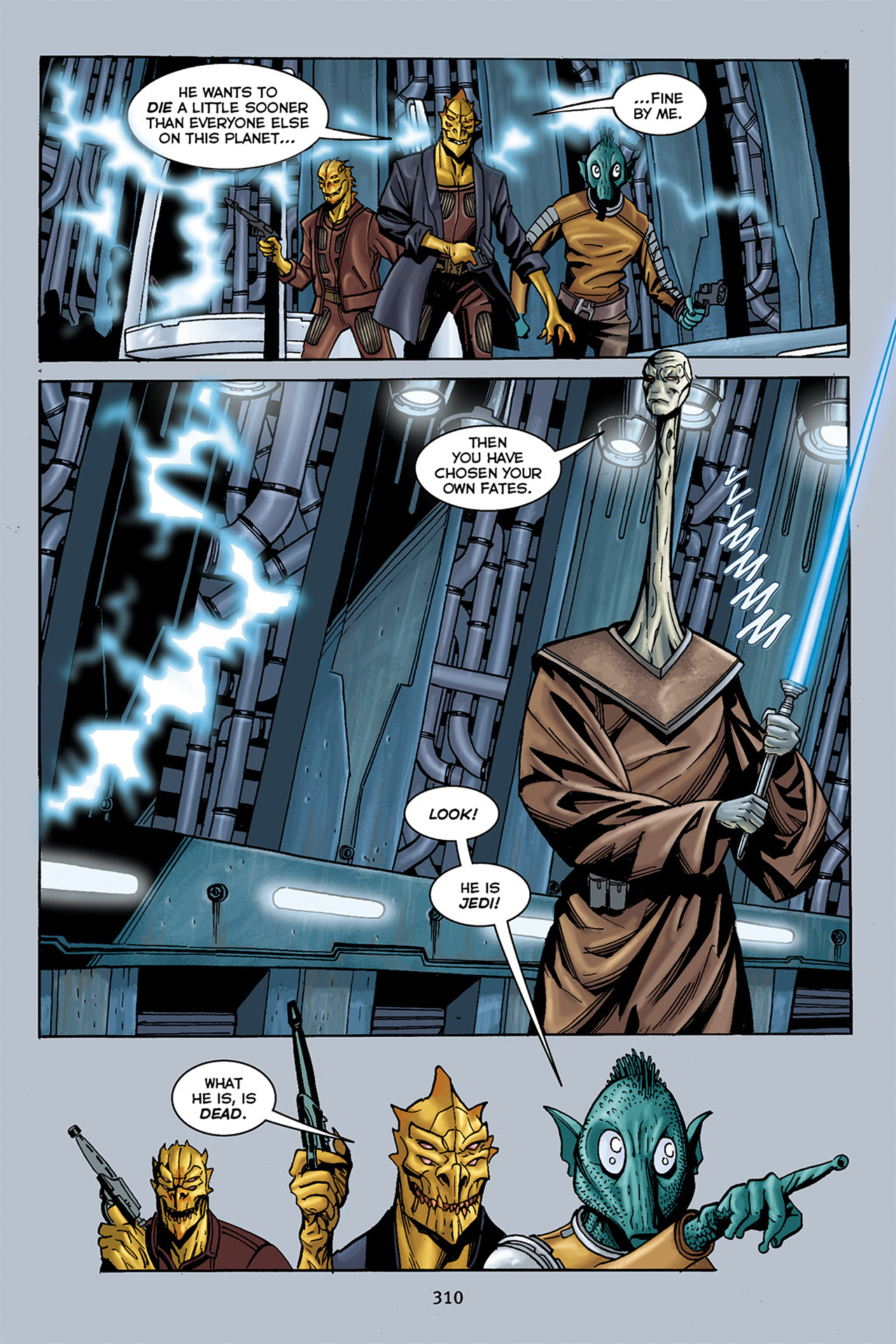 Read online Star Wars Omnibus comic -  Issue # Vol. 10 - 305