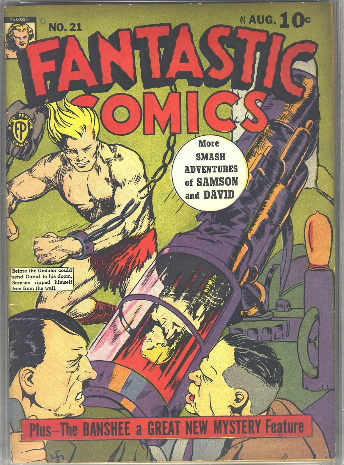 Read online Fantastic Comics comic -  Issue #21 - 2