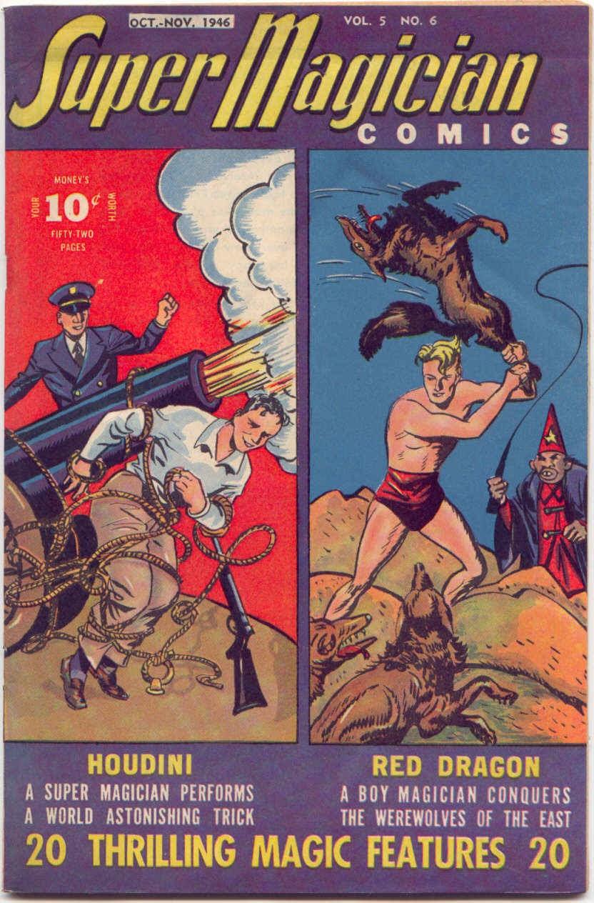 Super-Magician Comics issue 54 - Page 1