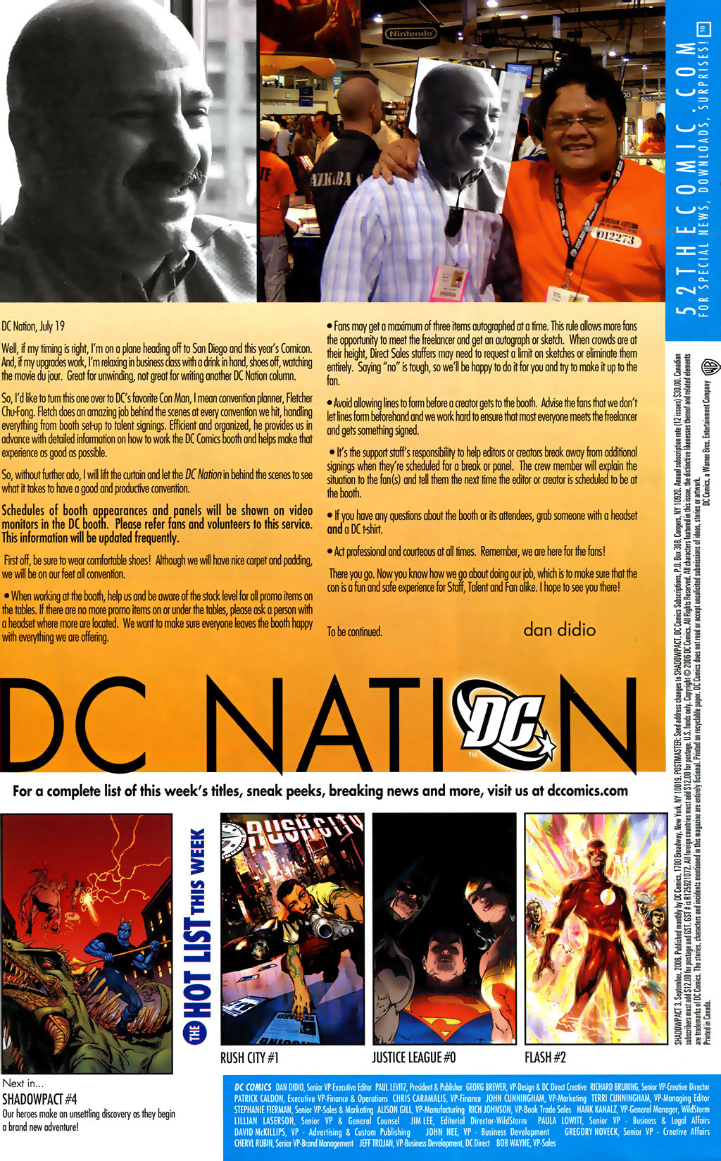 Read online Shadowpact comic -  Issue #3 - 23