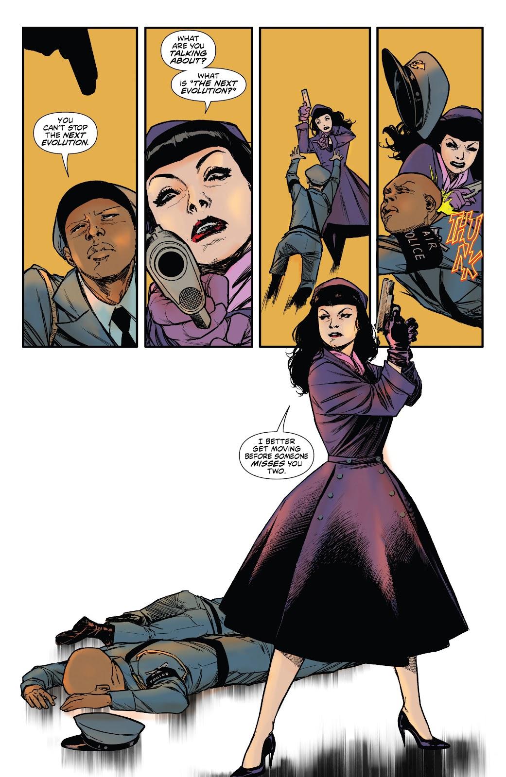 Read online Bettie Page: Unbound comic -  Issue #6 - 22