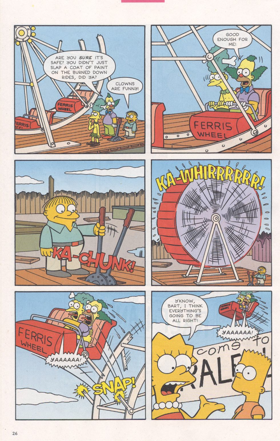Read online Simpsons Comics comic -  Issue #93 - 27