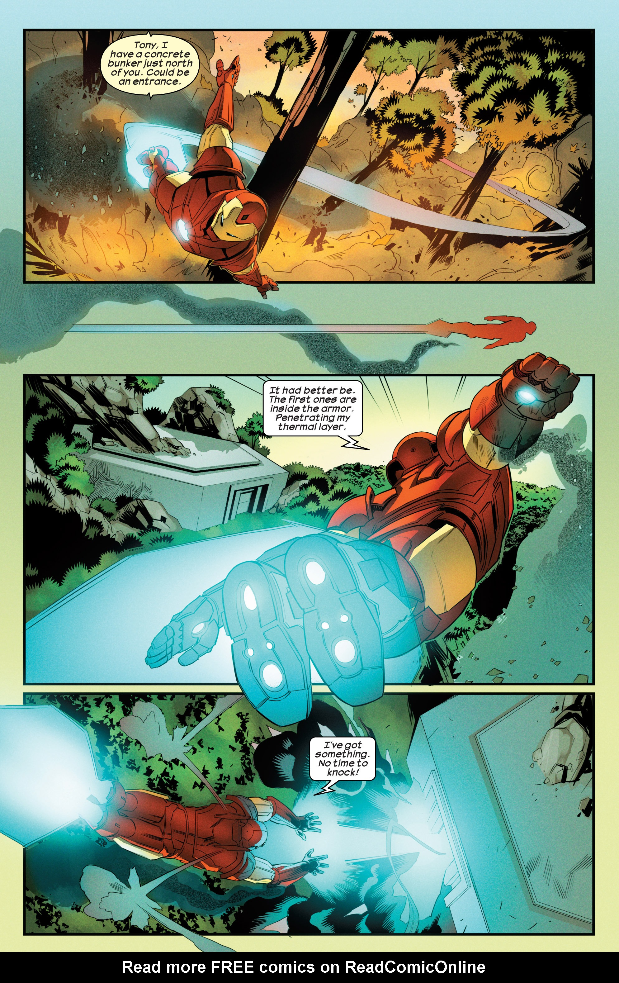 Read online Ultimate Comics Iron Man comic -  Issue #3 - 19