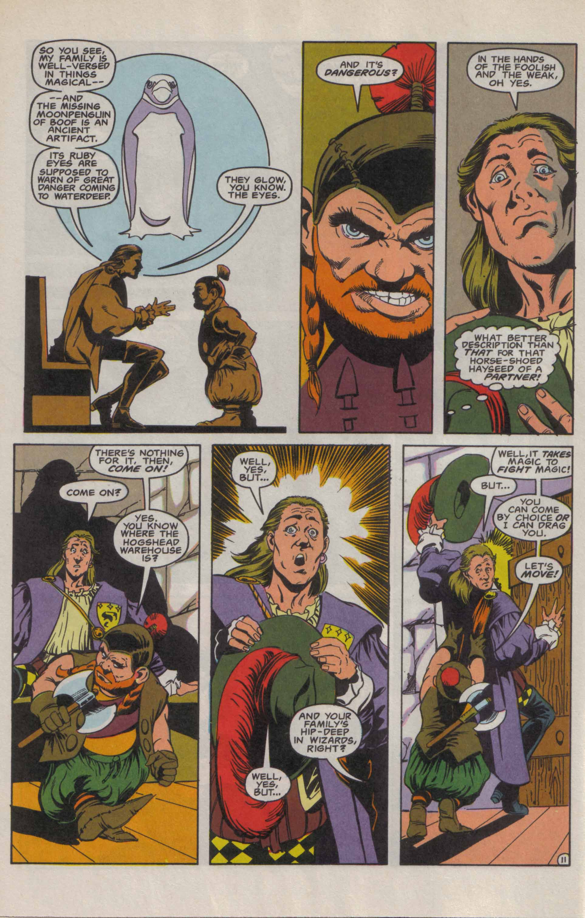 Read online Advanced Dungeons & Dragons comic -  Issue #9 - 12