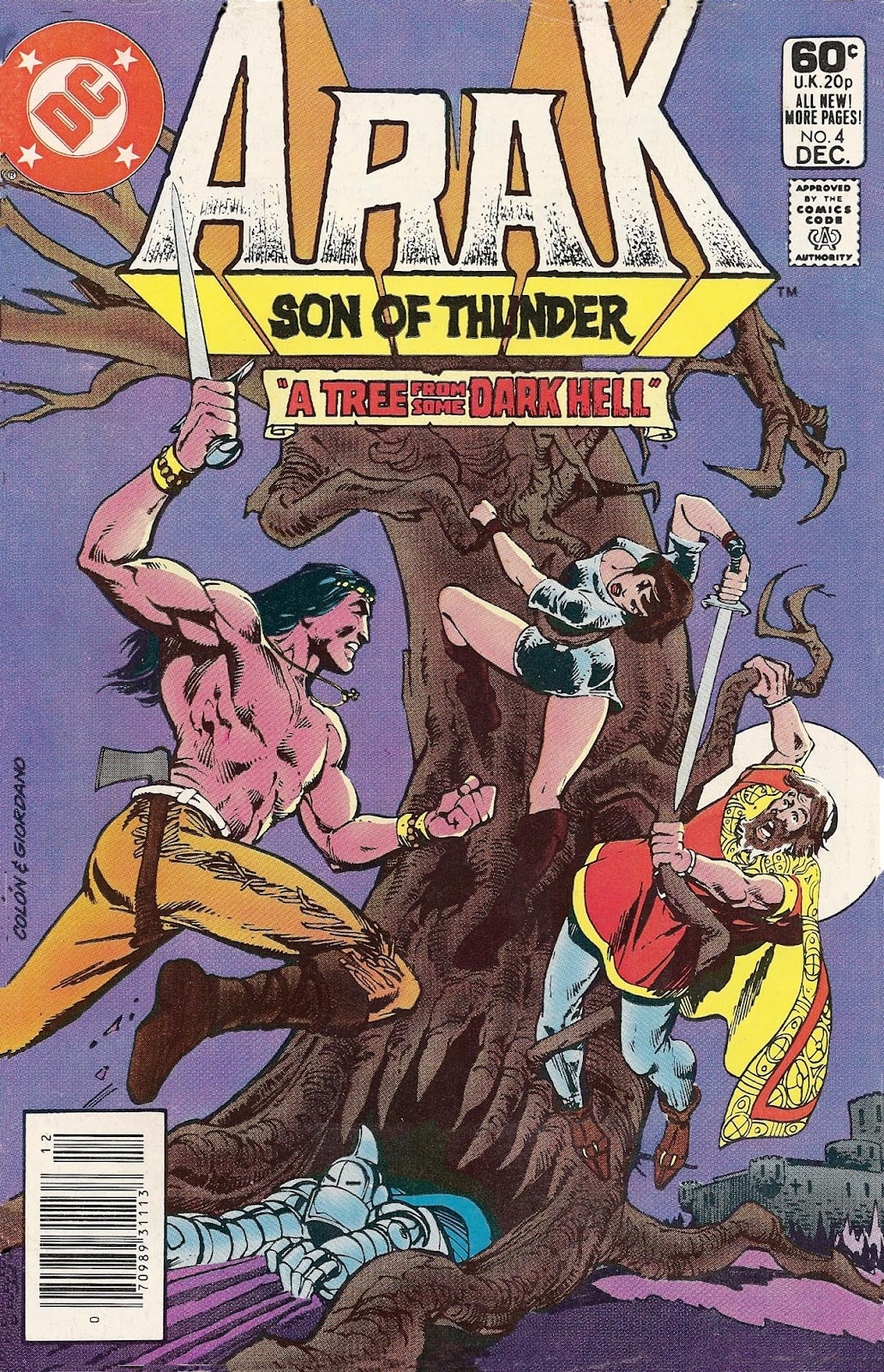 Arak Son of Thunder 4 Page 1