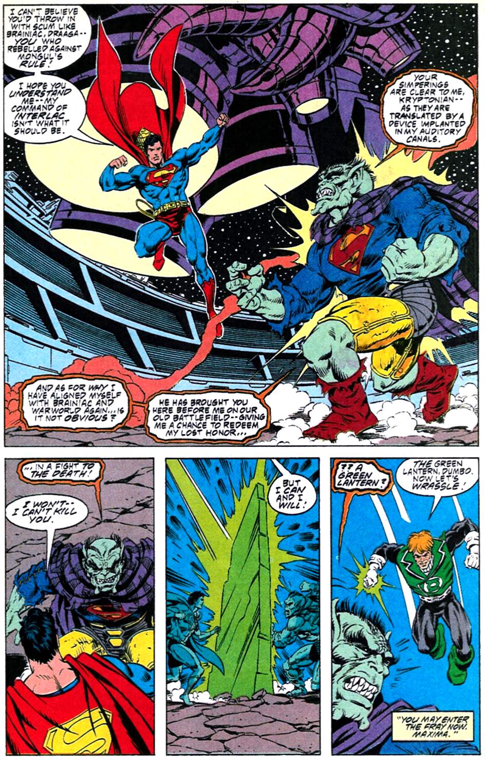 Read online Adventures of Superman (1987) comic -  Issue #488 - 17