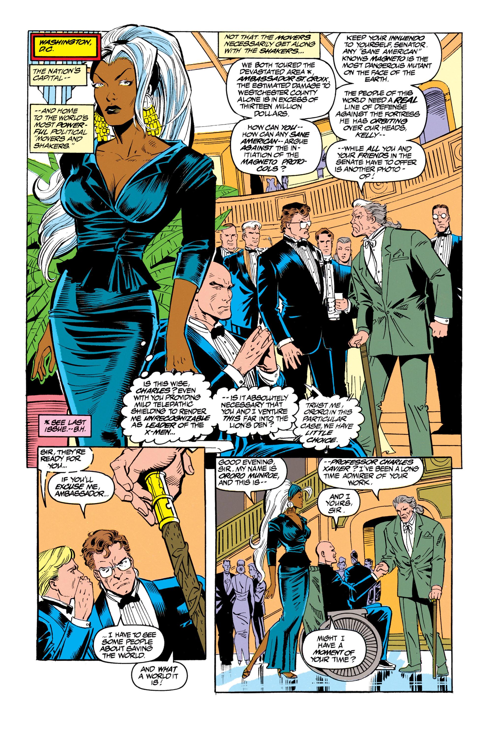 Read online Uncanny X-Men (1963) comic -  Issue #305 - 8