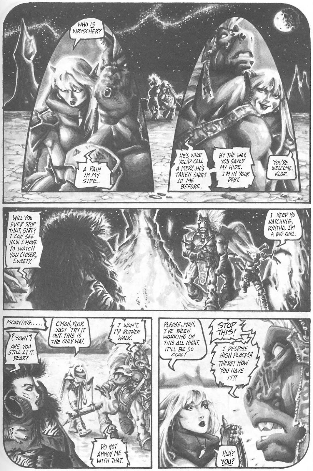 Read online Animal Mystic comic -  Issue #4 - 35