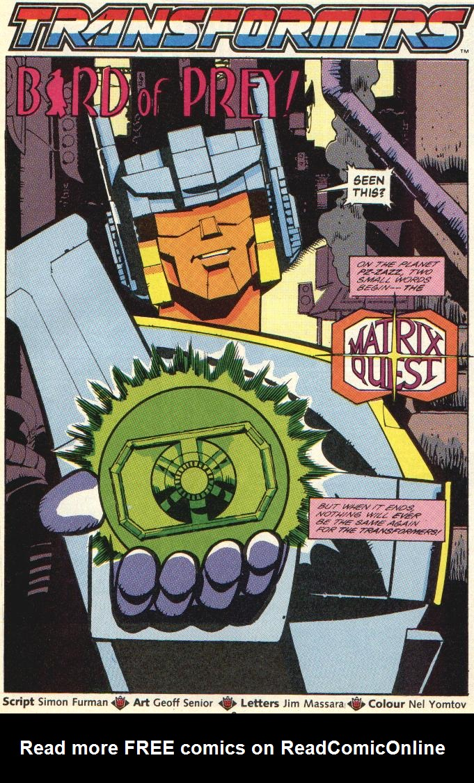 The Transformers (UK) 262 Page 2