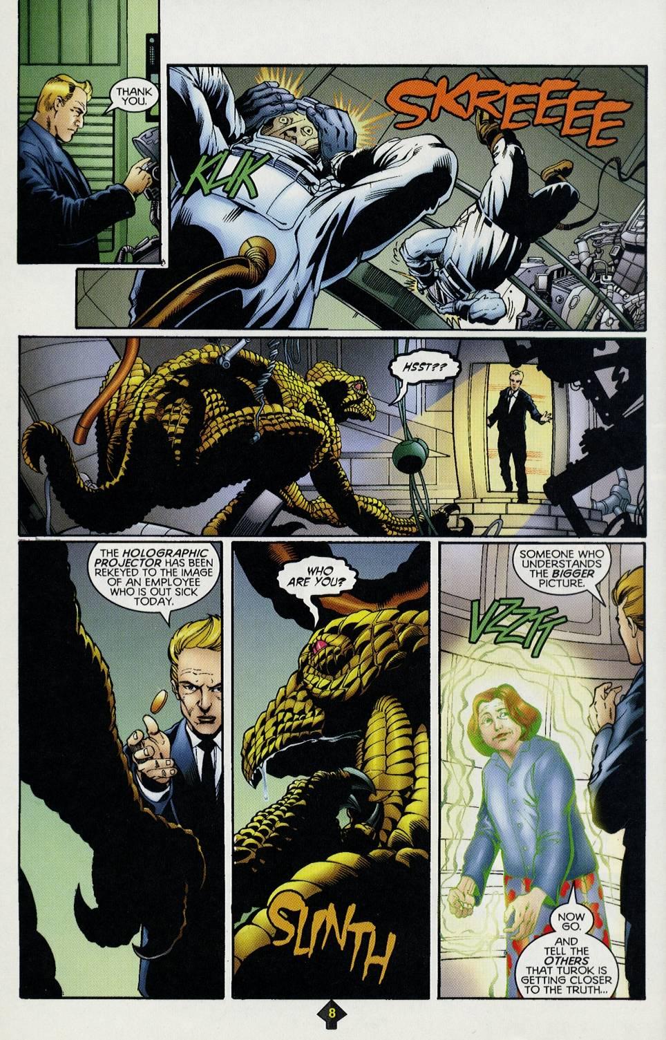 Read online Turok comic -  Issue #3 - 8