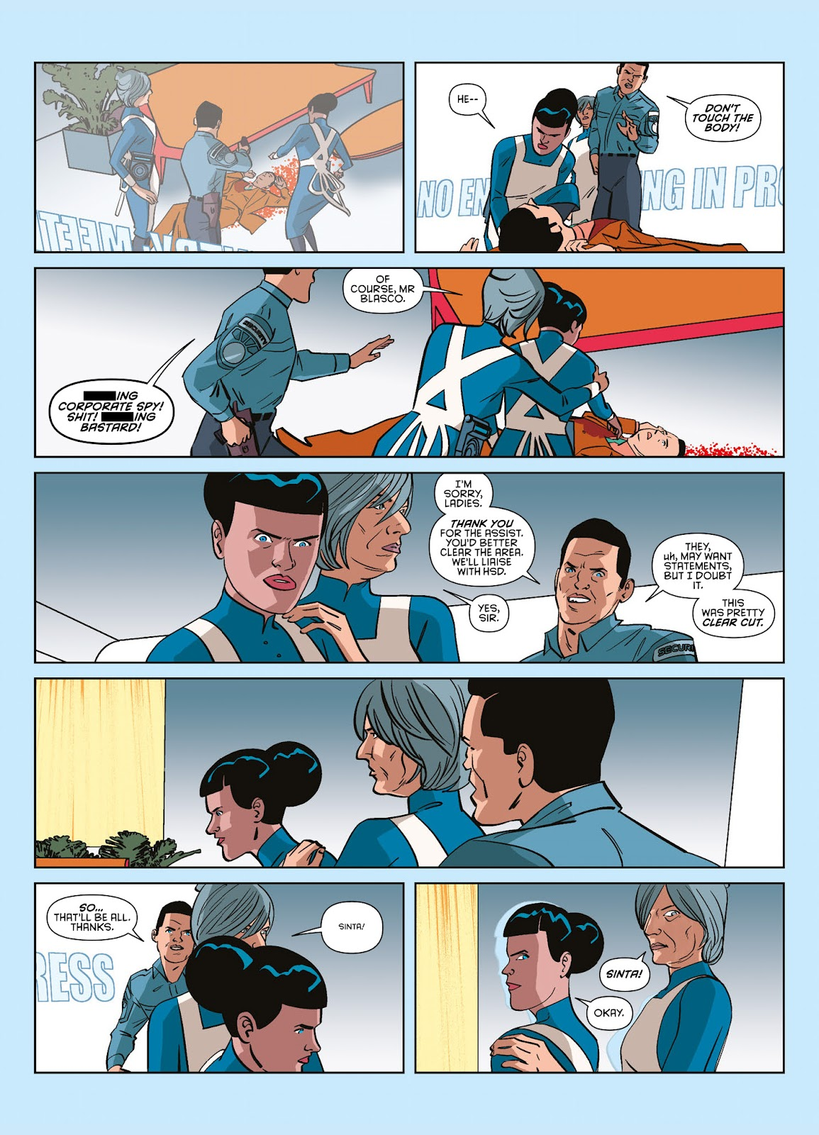 Read online Brink comic -  Issue # TPB 3 - 21