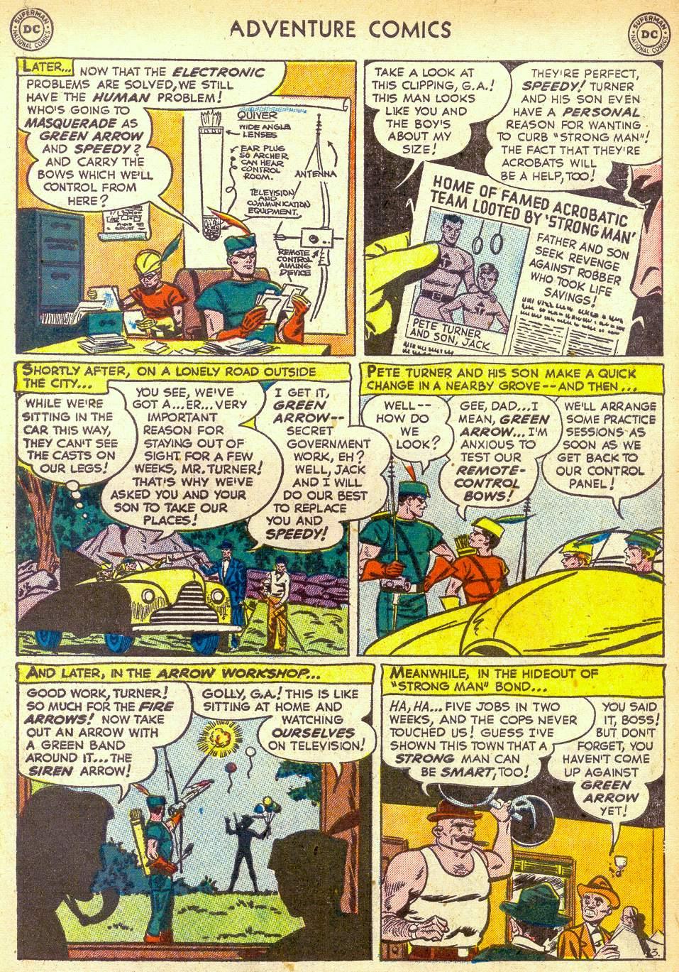 Read online Adventure Comics (1938) comic -  Issue #172 - 35