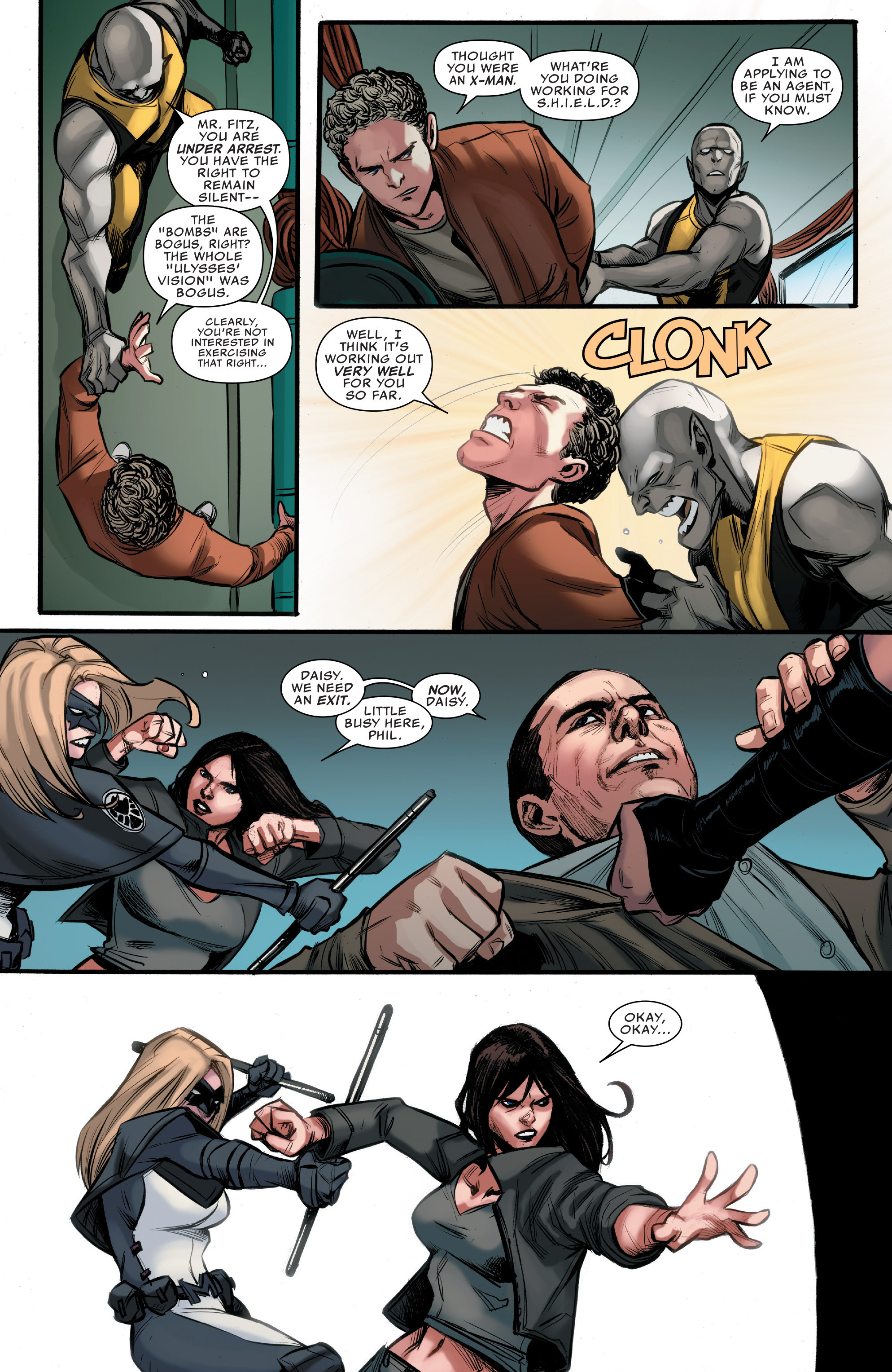 Read online Agents of S.H.I.E.L.D. comic -  Issue #9 - 18
