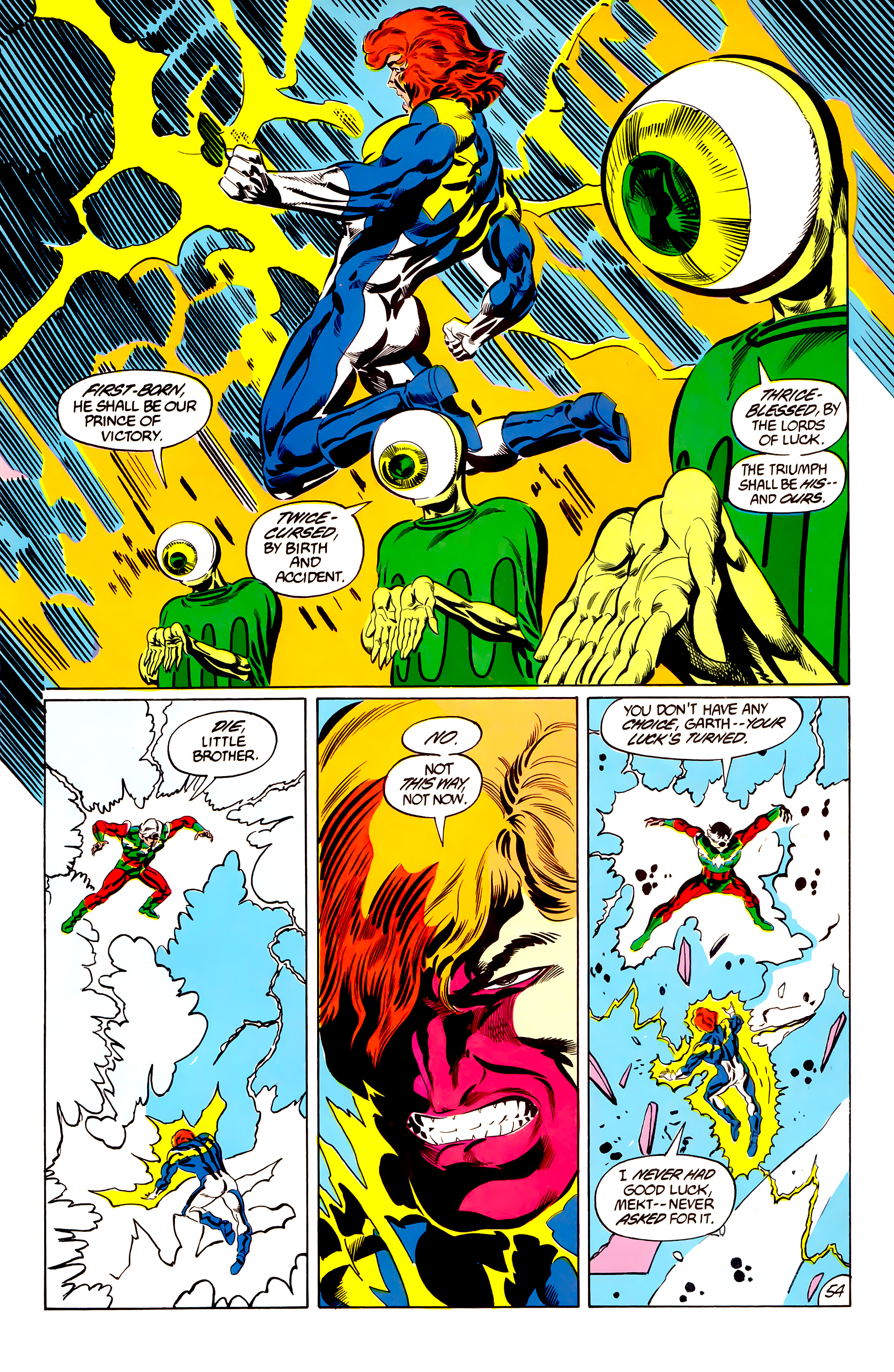 Legion of Super-Heroes (1984) 45 Page 53