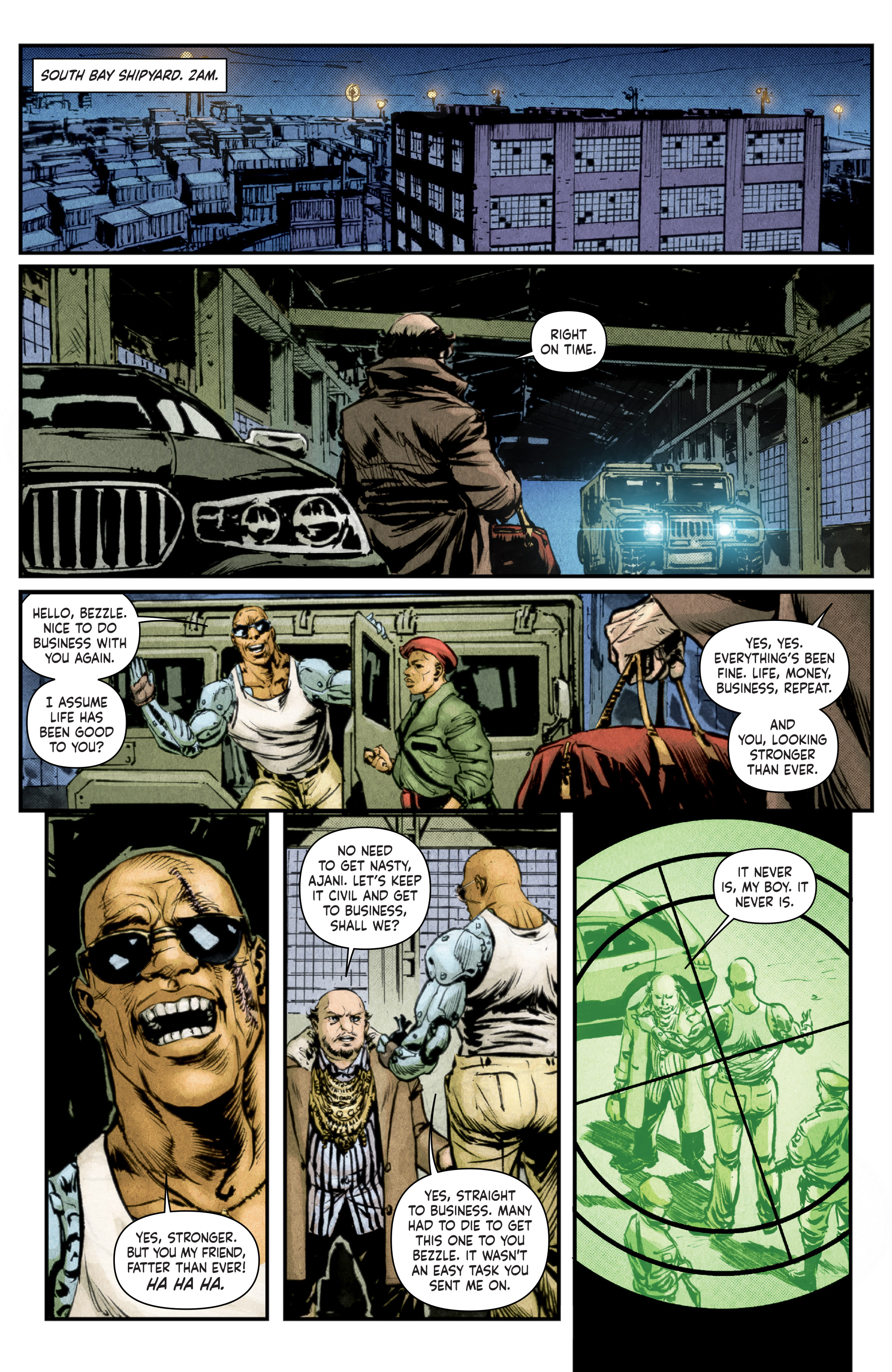 Read online Stained comic -  Issue #1 - 8