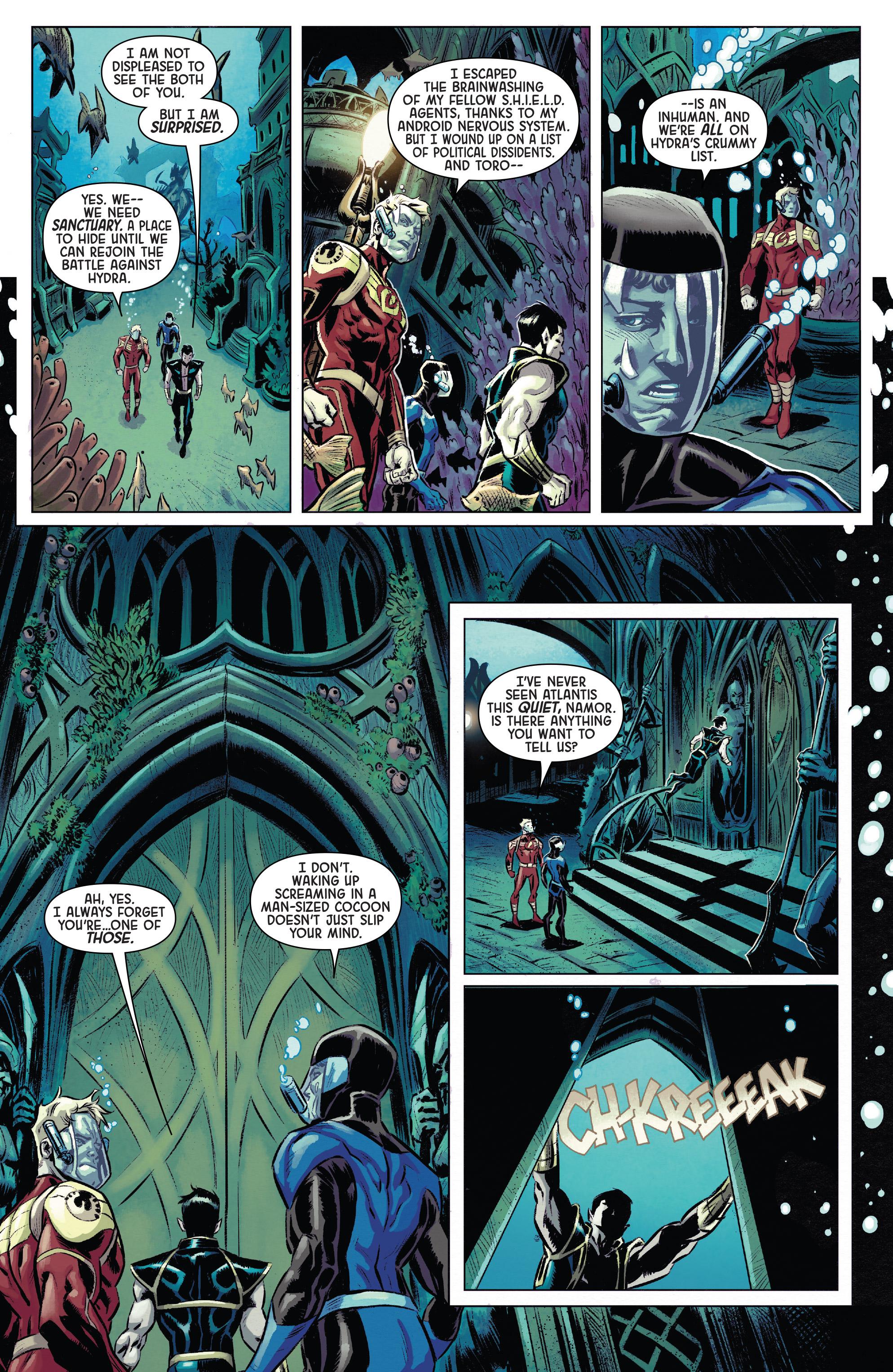 Read online Secret Empire: Brave New World comic -  Issue #1 - 6