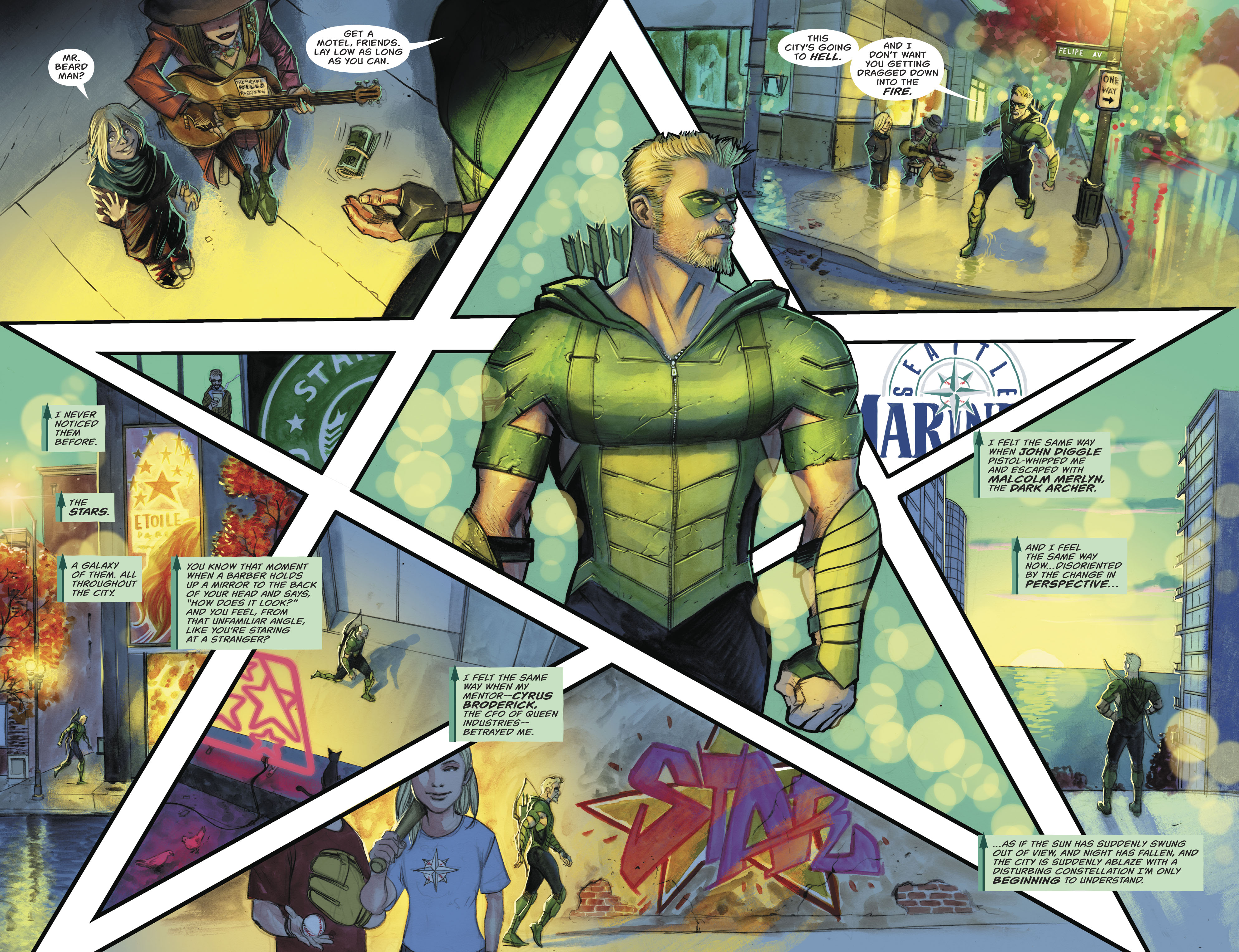 Read online Green Arrow (2016) comic -  Issue #24 - 5