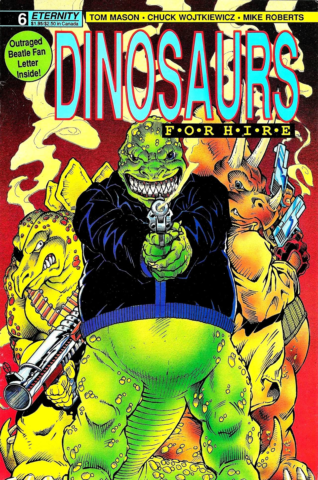 Dinosaurs For Hire (1988) issue 6 - Page 1