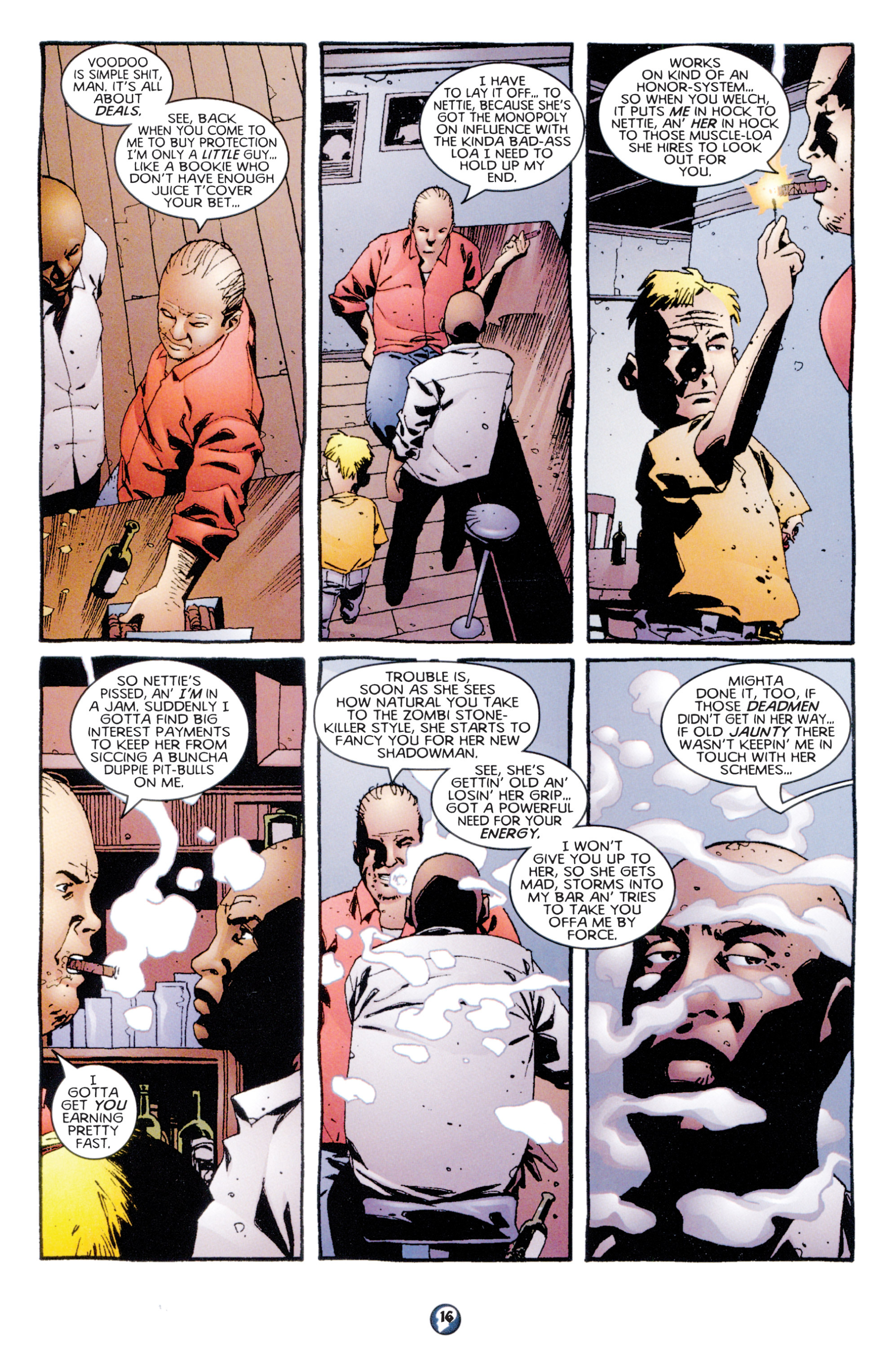 Read online Shadowman (1997) comic -  Issue #7 - 13