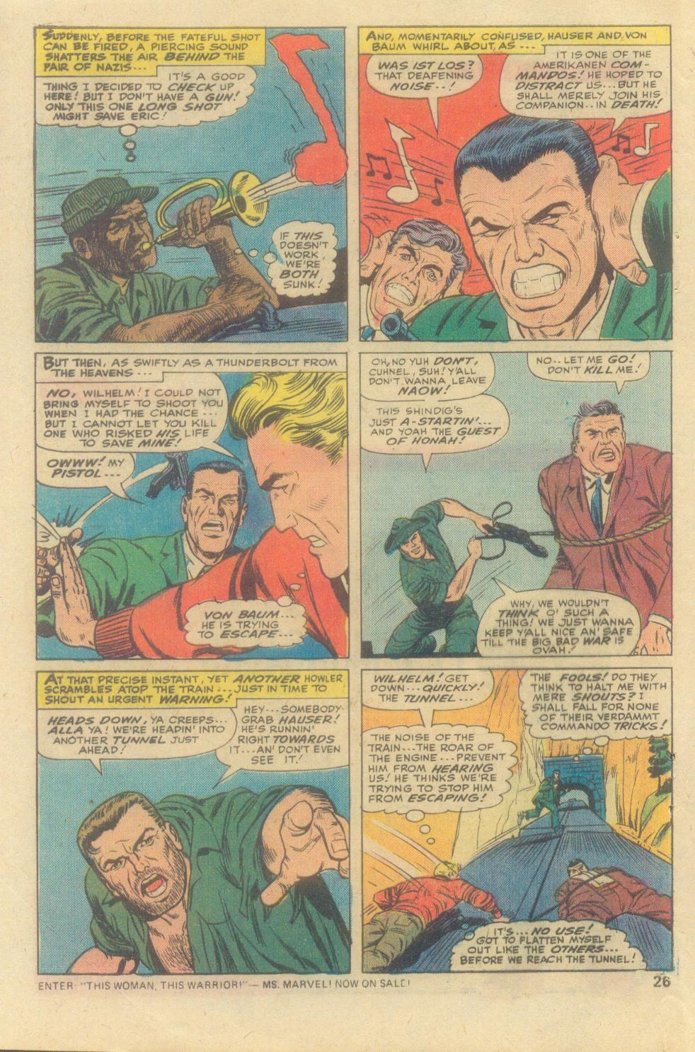 Read online Sgt. Fury comic -  Issue #138 - 28