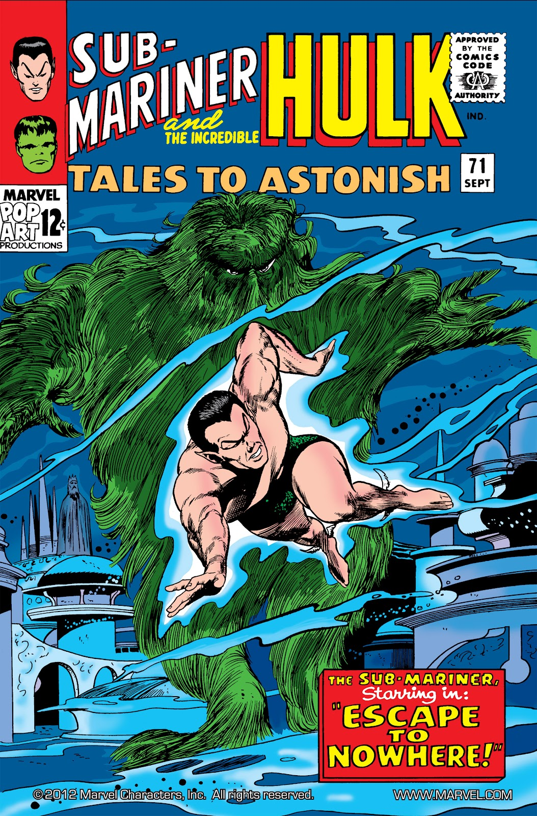 Read online Marvel Masterworks: The Incredible Hulk comic -  Issue # TPB 2 (Part 2) - 45